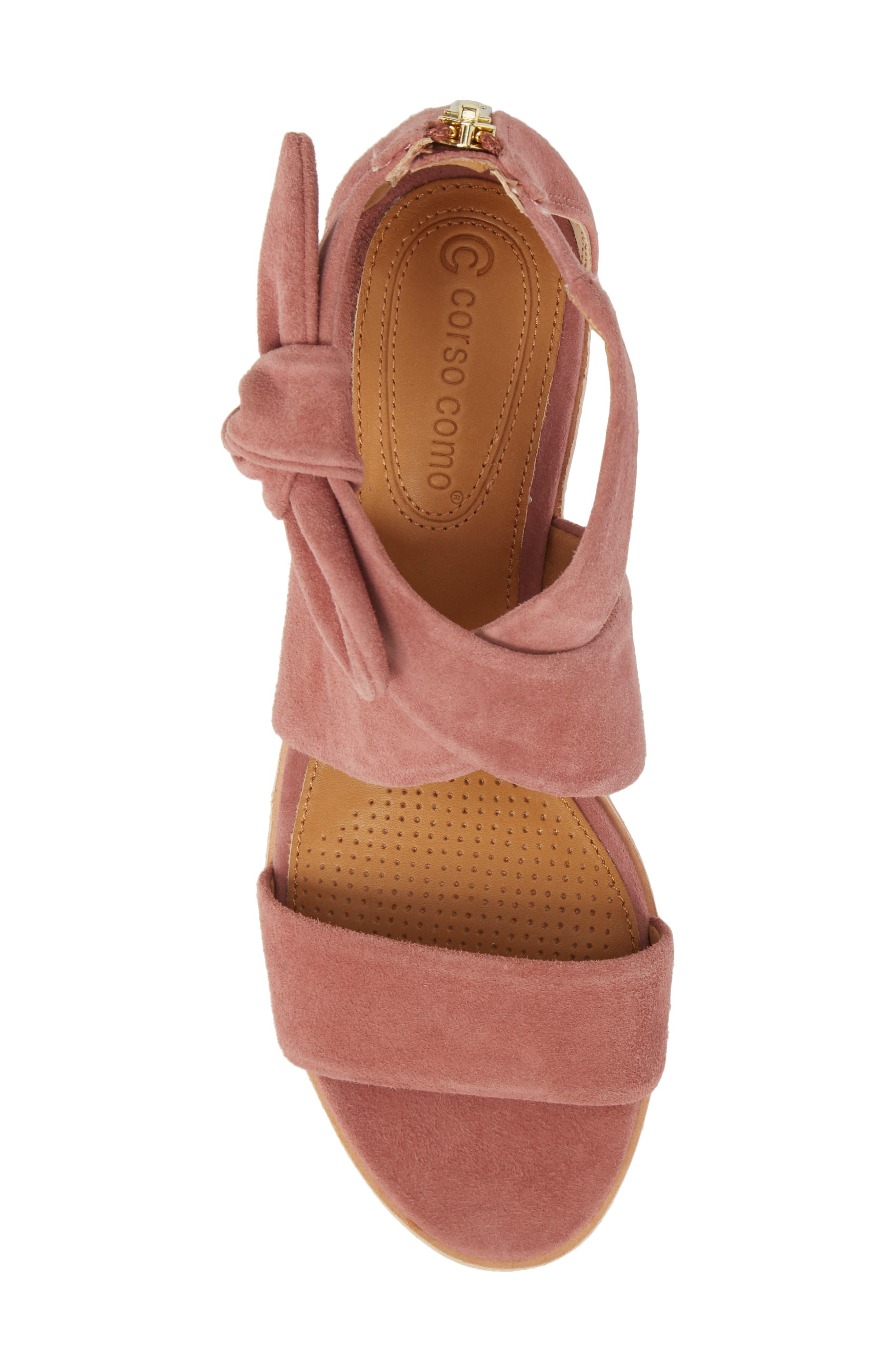 Rasque Sandal,                             Alternate thumbnail 5, color,                             Old Rose Leather