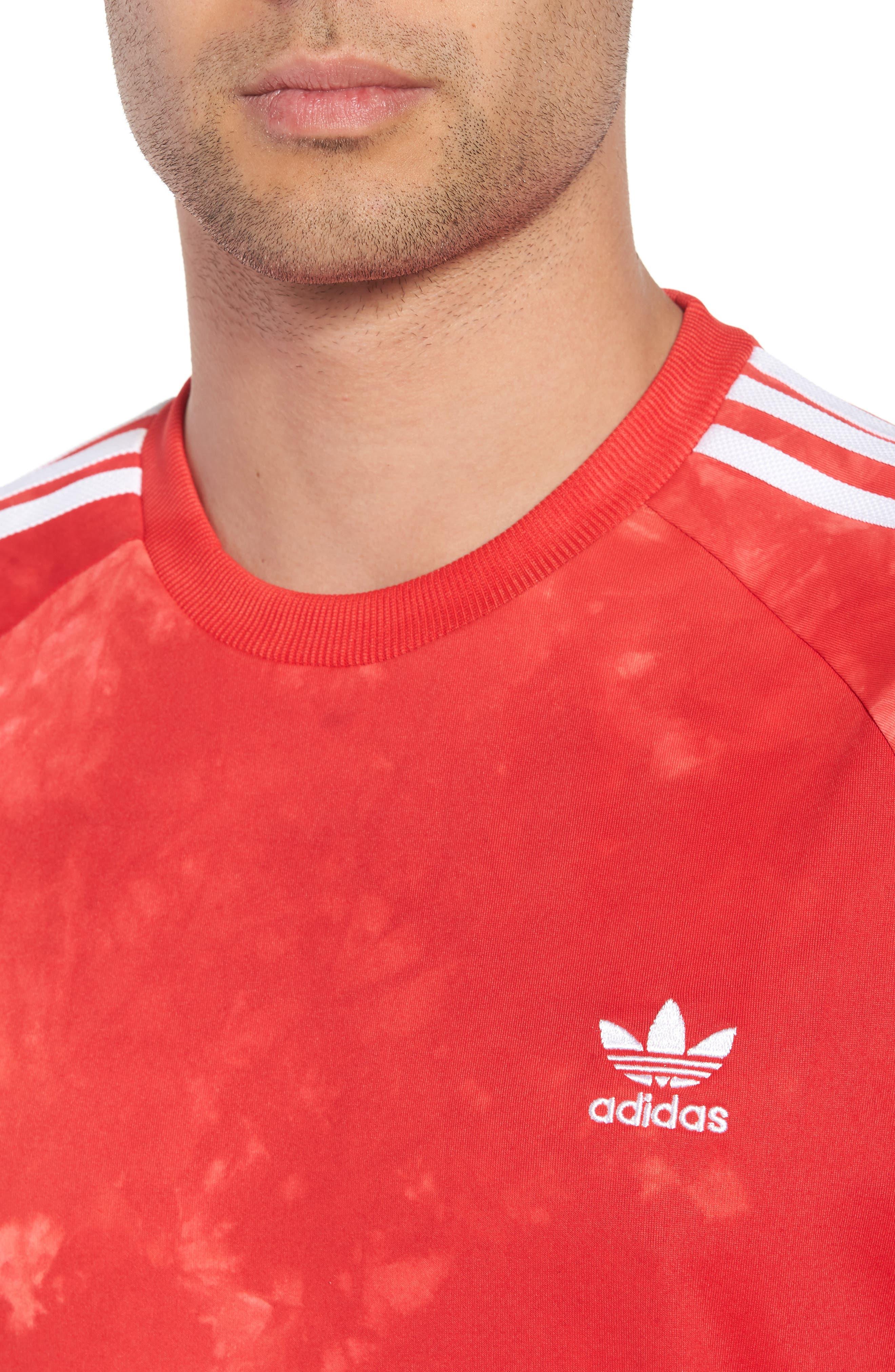 Hu Holi Soccer T-Shirt,                             Alternate thumbnail 4, color,                             Scarlet
