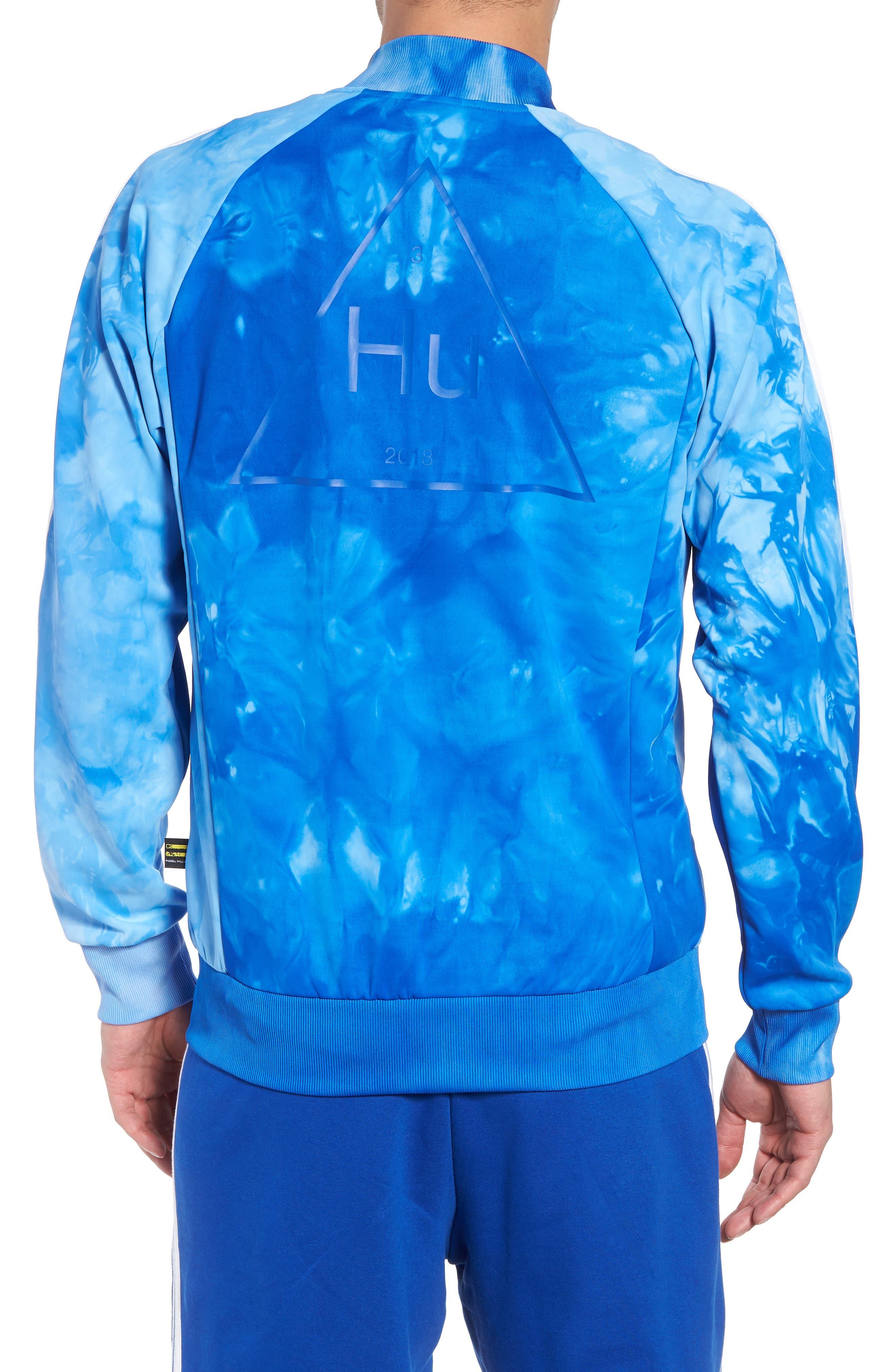 Hu Holi Track Jacket,                             Alternate thumbnail 2, color,                             Blue