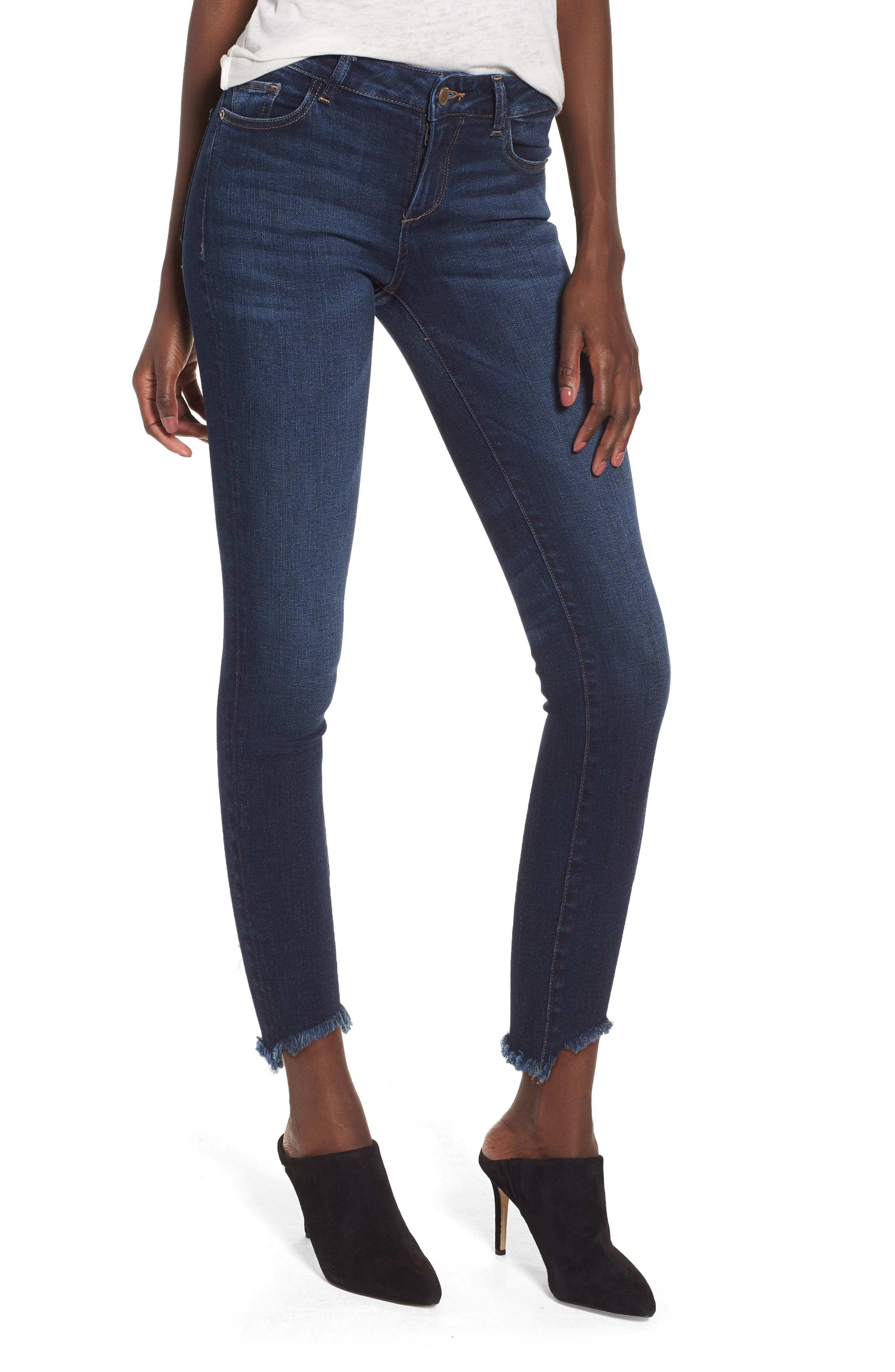 Florence Instasculpt Crop Skinny Jeans,                         Main,                         color, Ralston
