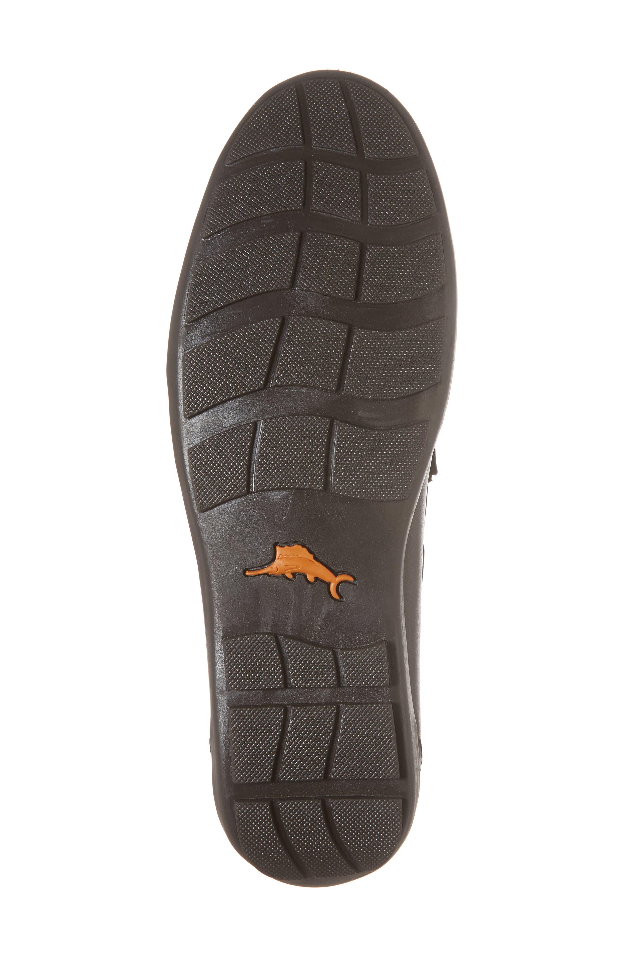Tangier Driving Shoe,                             Alternate thumbnail 6, color,                             Medium Brown Leather