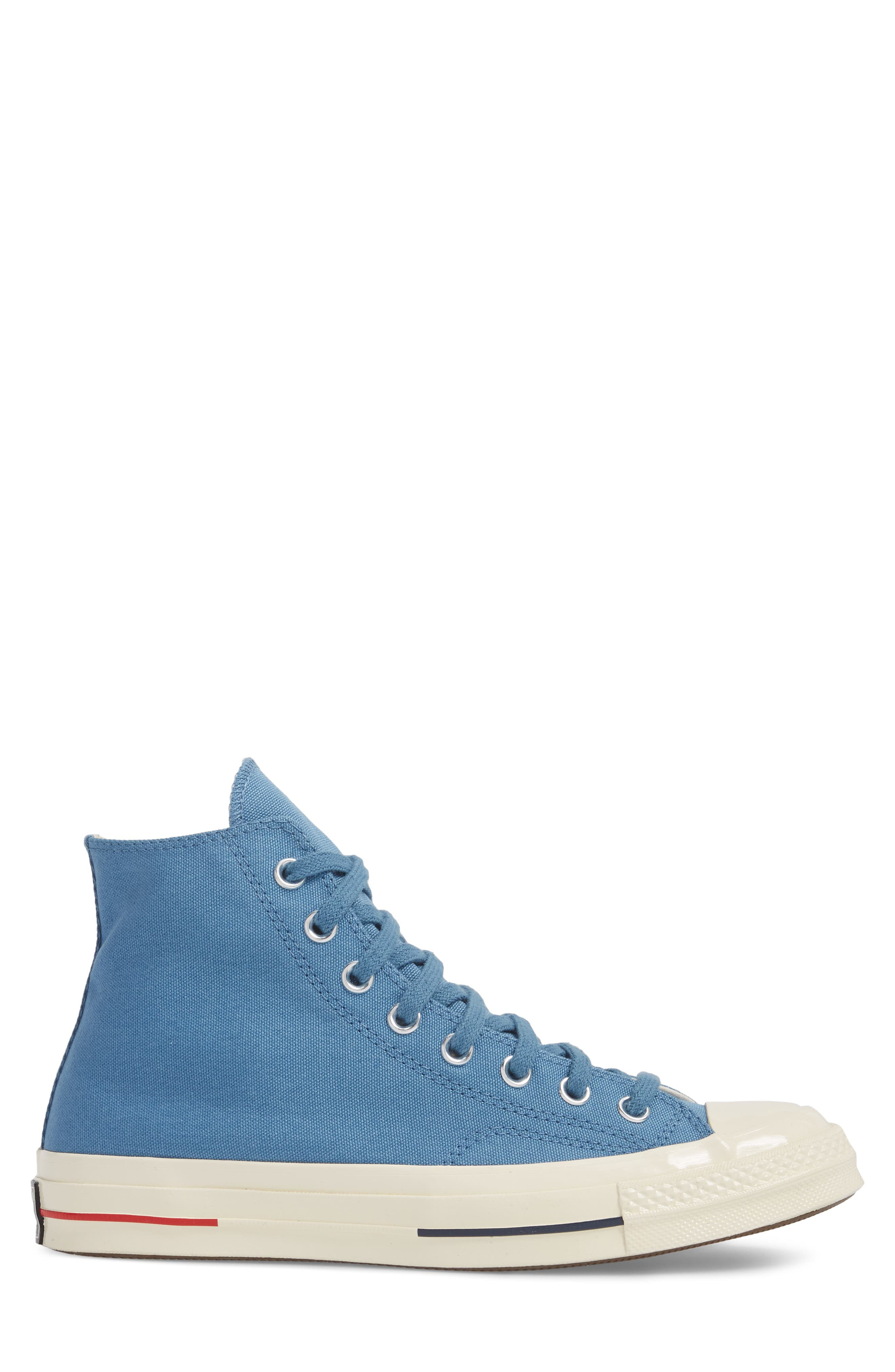 Chuck Taylor<sup>®</sup> All Star<sup>®</sup> '70s Heritage High Top Sneaker,                             Alternate thumbnail 3, color,                             Aegean Storm
