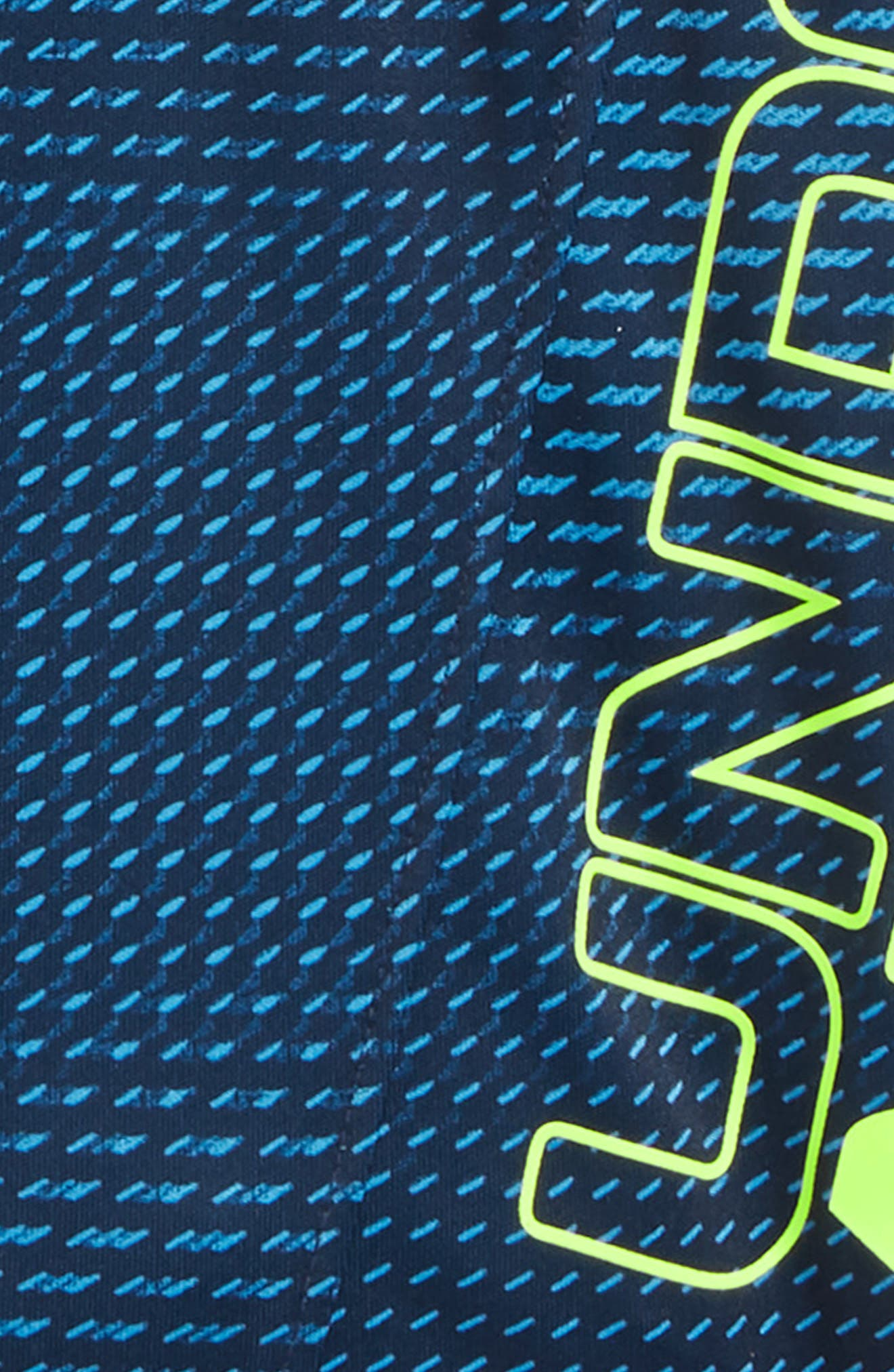 Sync Boost HeatGear<sup>®</sup> Shorts,                             Alternate thumbnail 2, color,                             Canoe Blue
