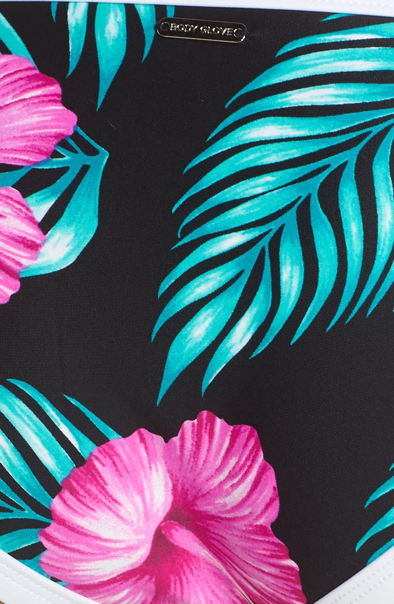 Molokai Hipster Bikini Bottoms,                             Alternate thumbnail 8, color,                             Black