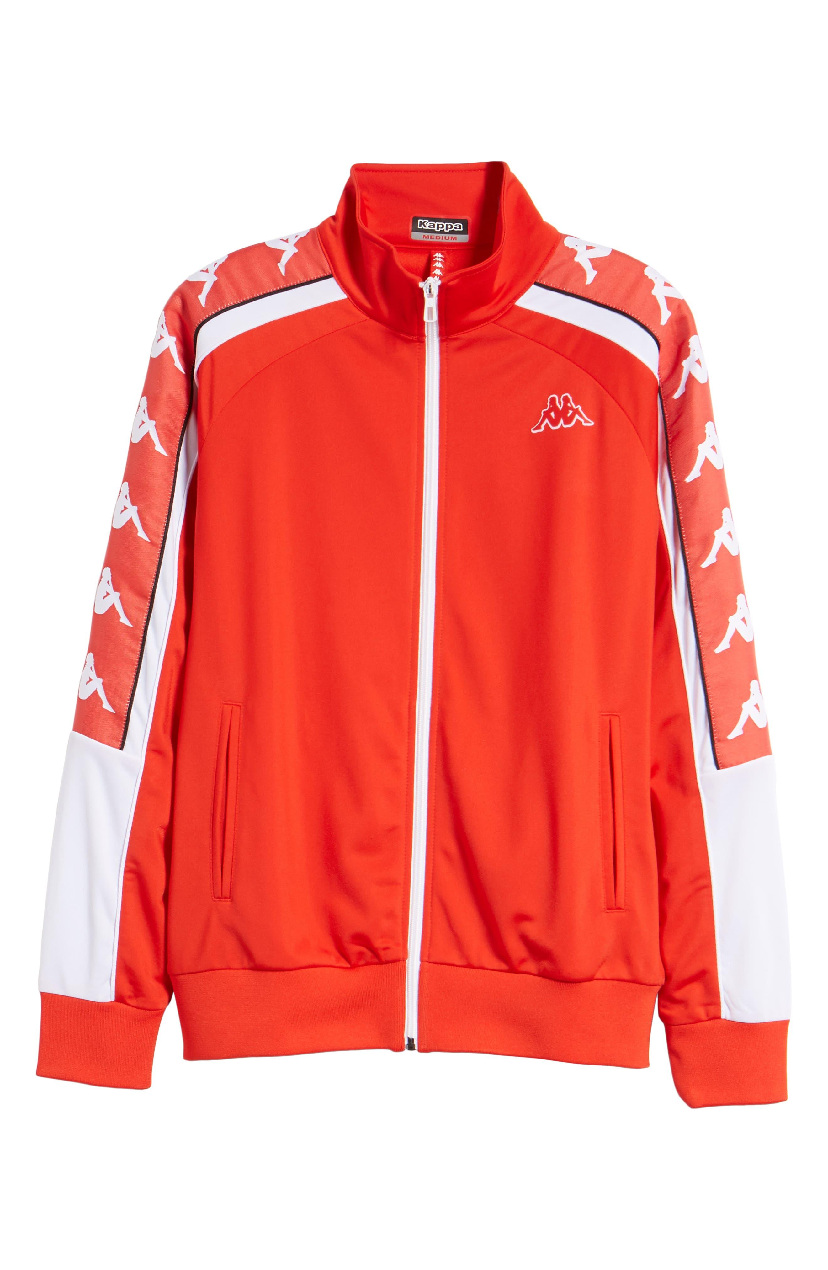 222 Banda 10 Anay Jacket,                             Alternate thumbnail 7, color,                             Red Flame -White