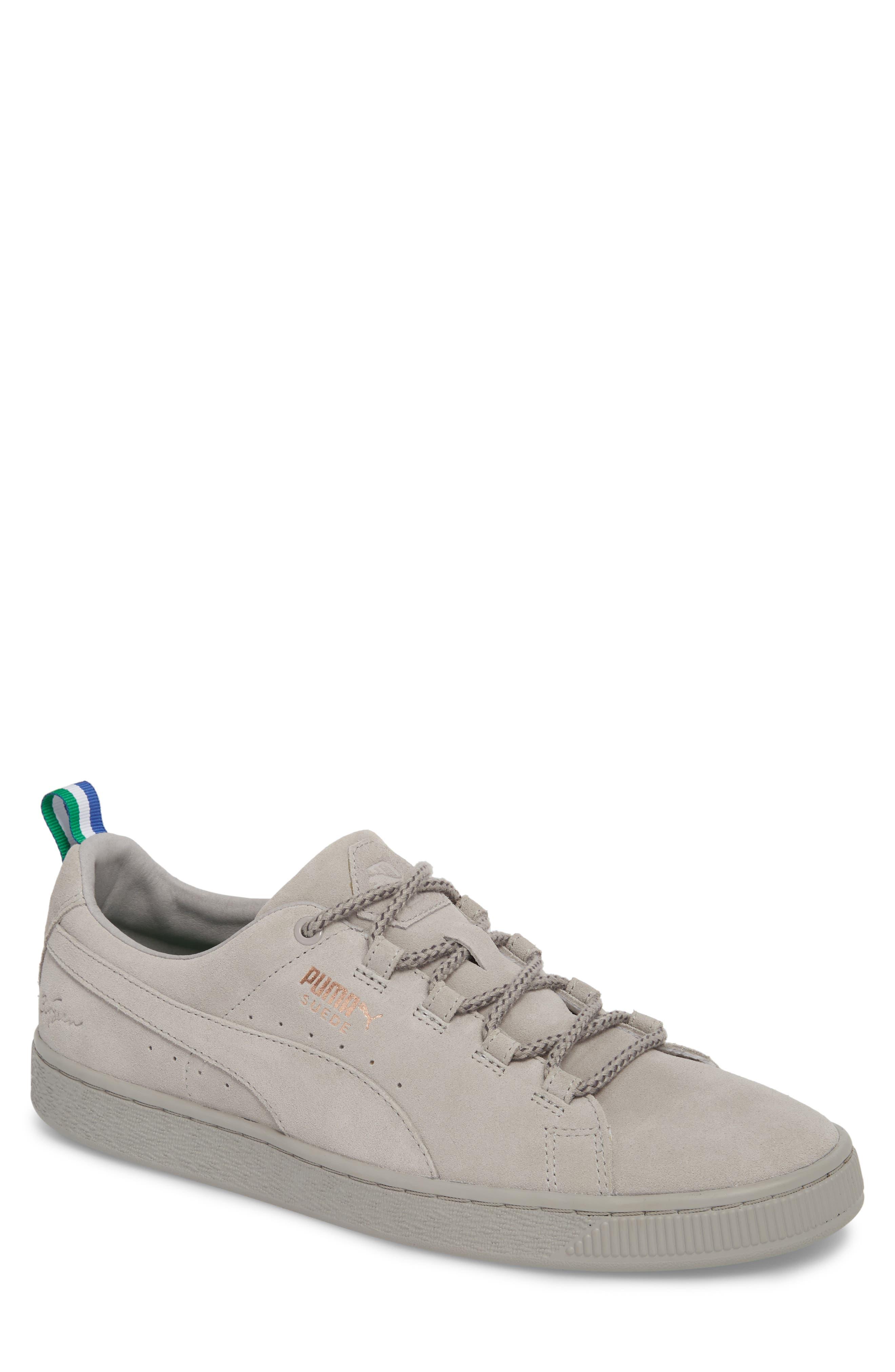 x Big Sean Suede Sneaker,                             Main thumbnail 1, color,                             Ash Leather/ Suede