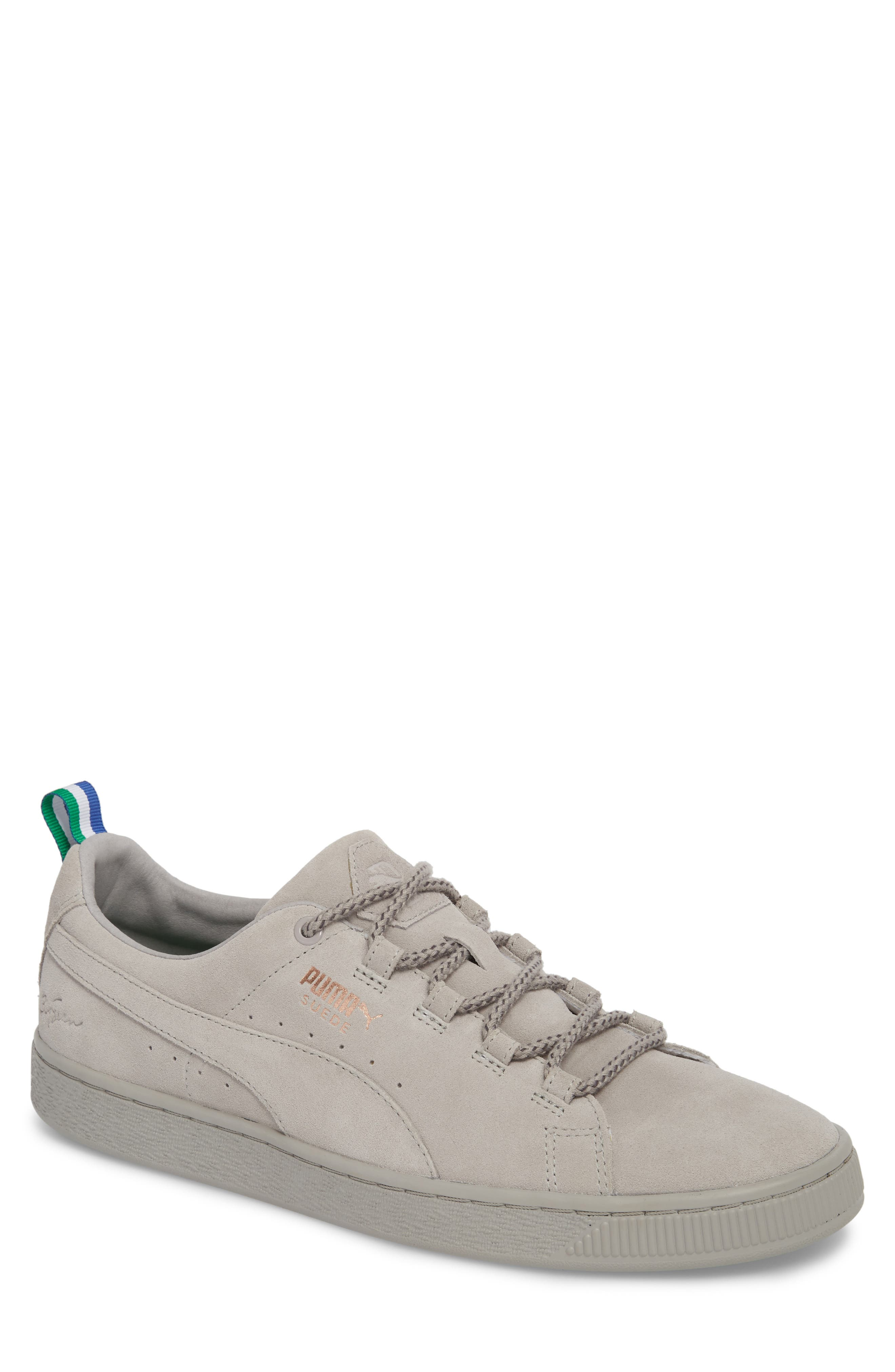 x Big Sean Suede Sneaker,                         Main,                         color, Ash Leather/ Suede