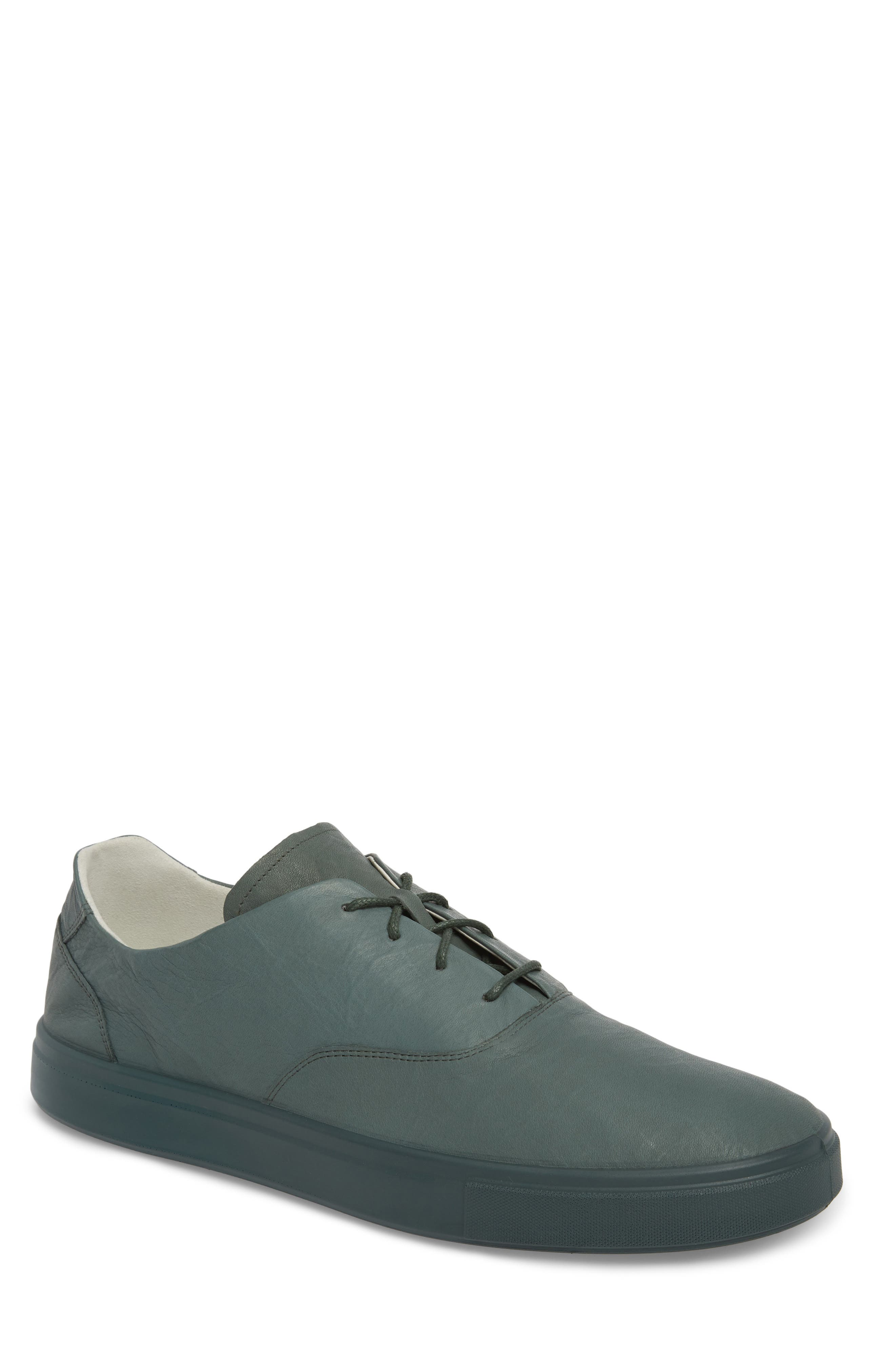 Kyle Low Top Sneaker,                             Main thumbnail 1, color,                             Military Sage Leather