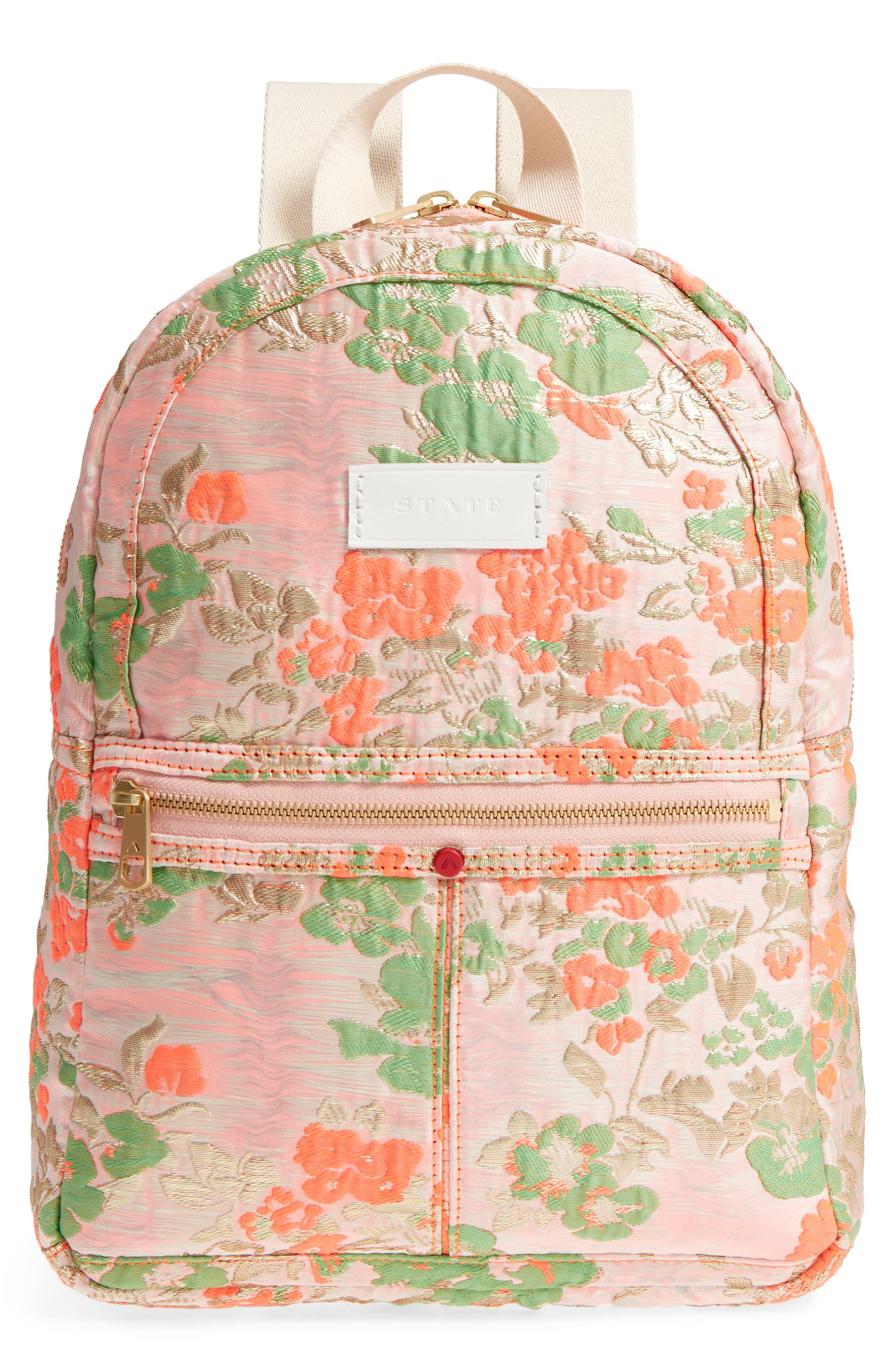 Alternate Image 1 Selected - STATE Bags Mini Kane Brocade Backpack