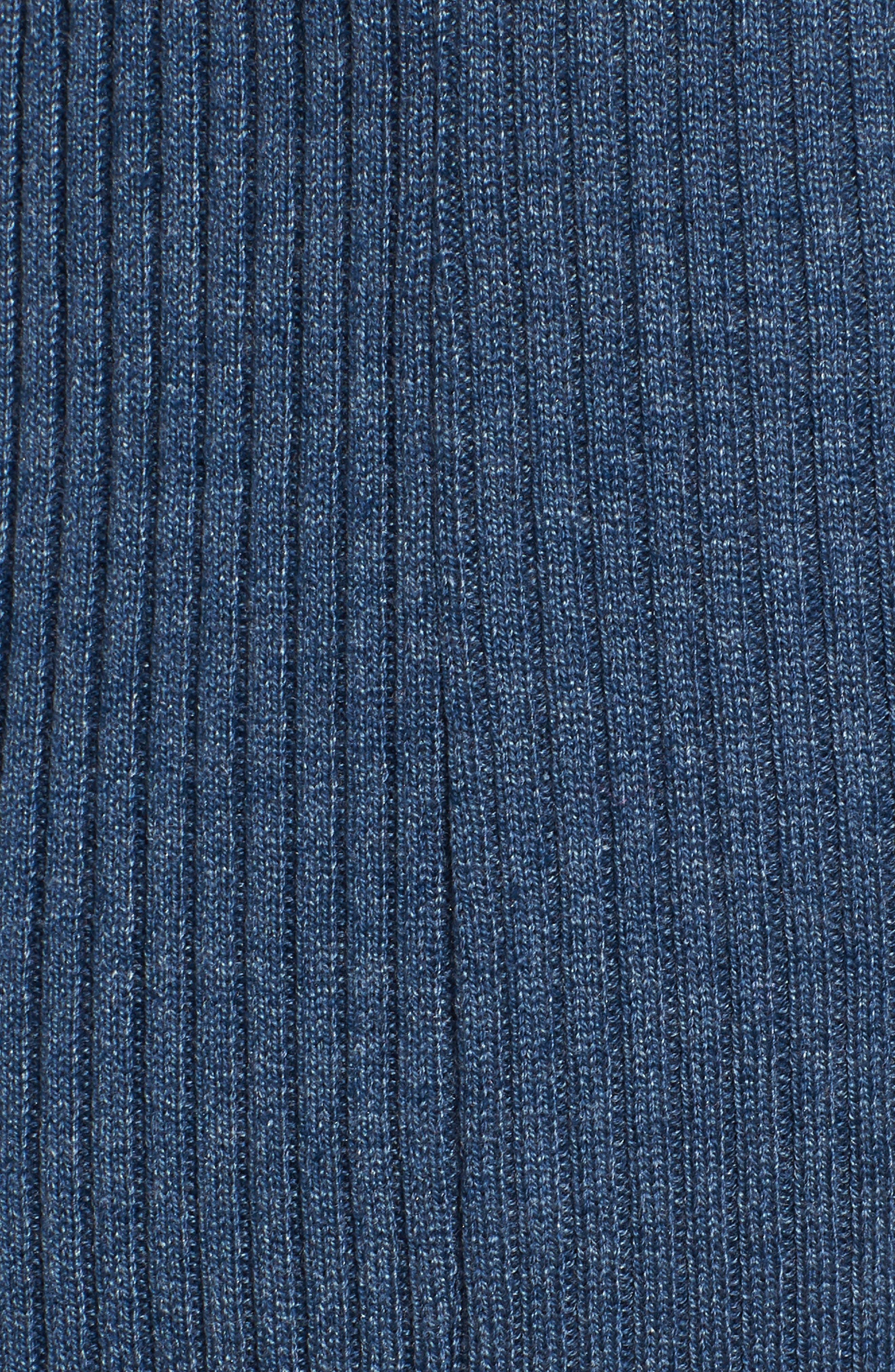 Cutout Body-Con Dress,                             Alternate thumbnail 7, color,                             Blue