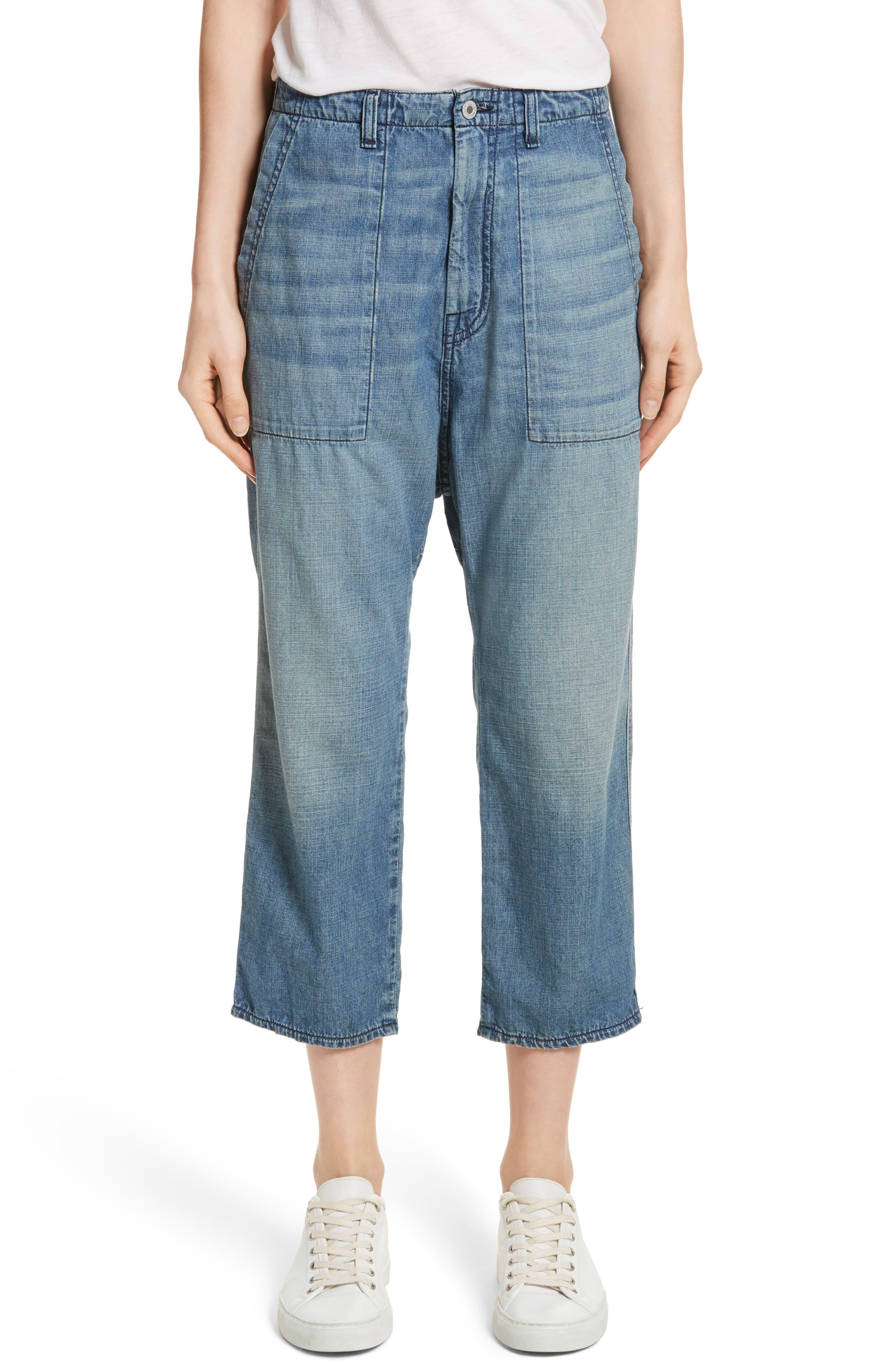 Nili Lotan Luna Crop Jeans (Sunset)