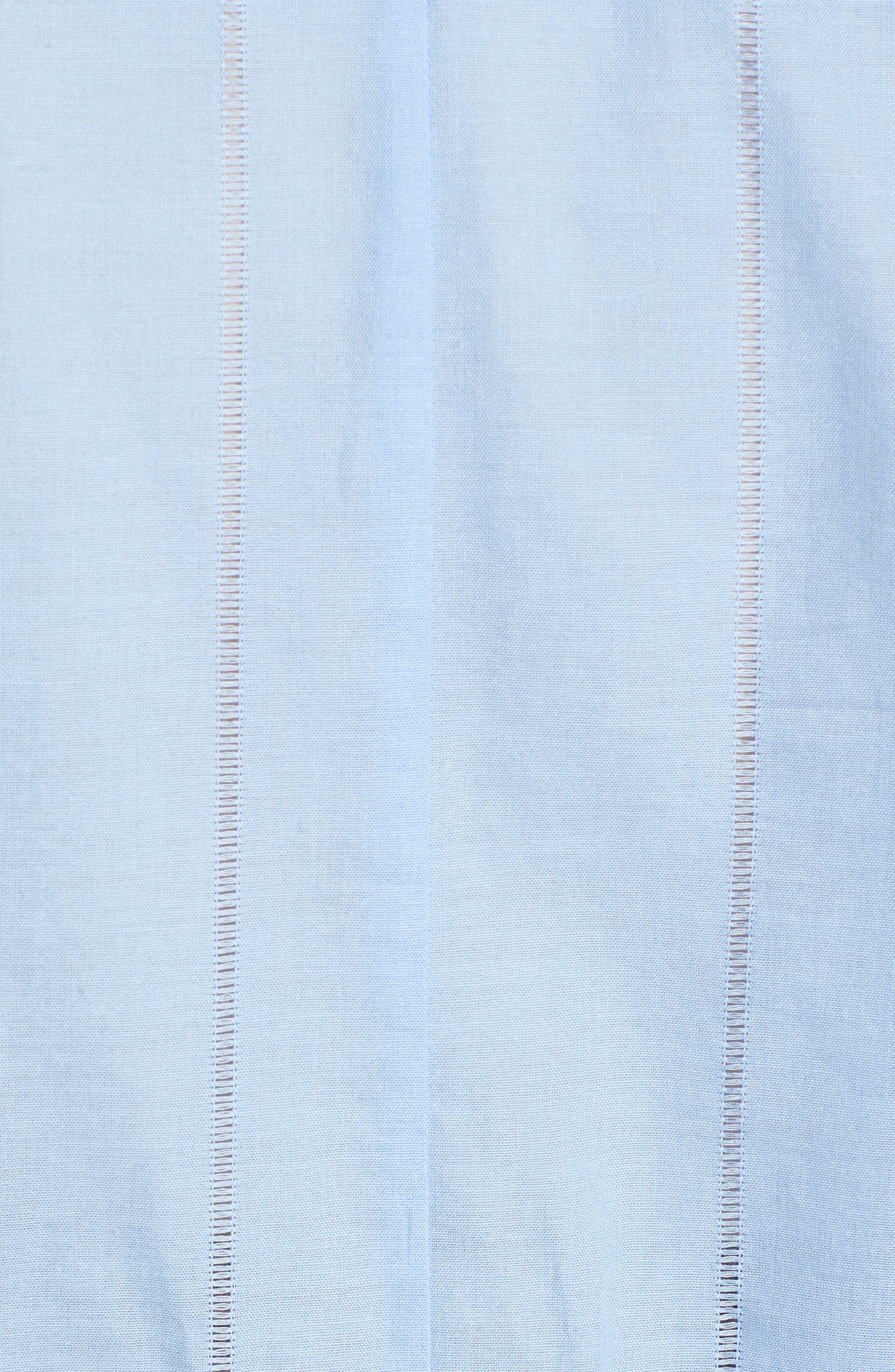 Bow Puff Sleeve Top,                             Alternate thumbnail 6, color,                             Sky Blue
