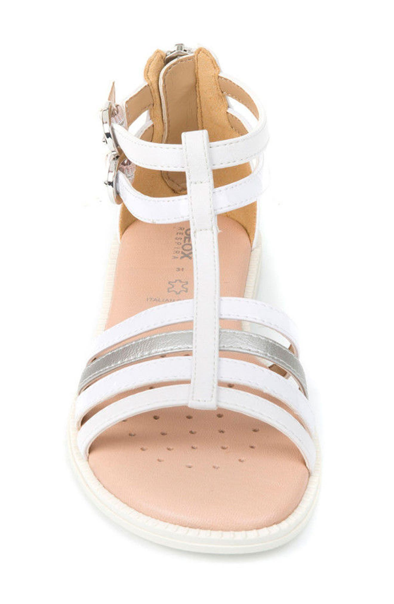 Karly Sandal,                             Alternate thumbnail 4, color,                             White