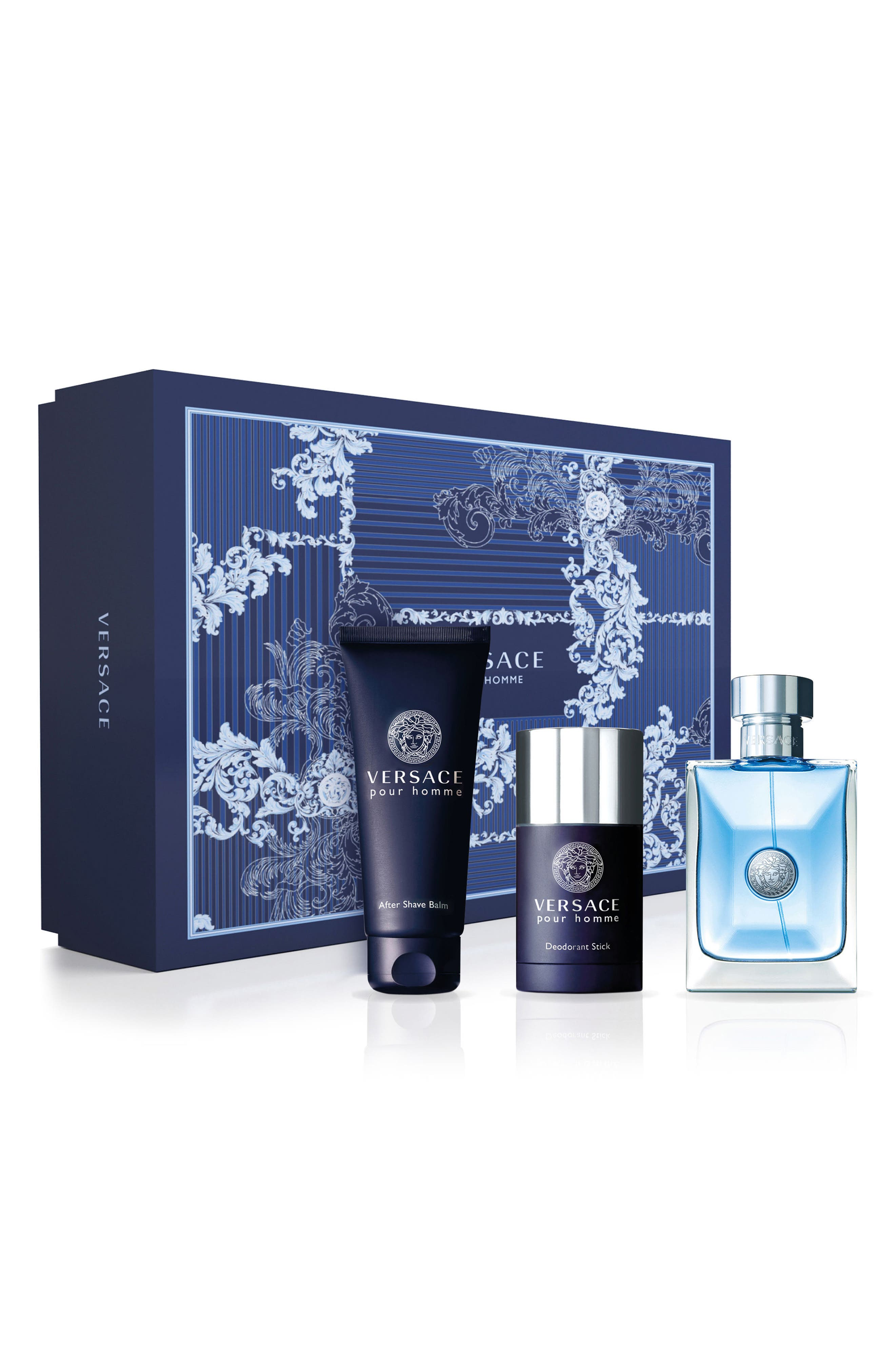 Versace pour Homme Three-Piece Set ($149 Value)