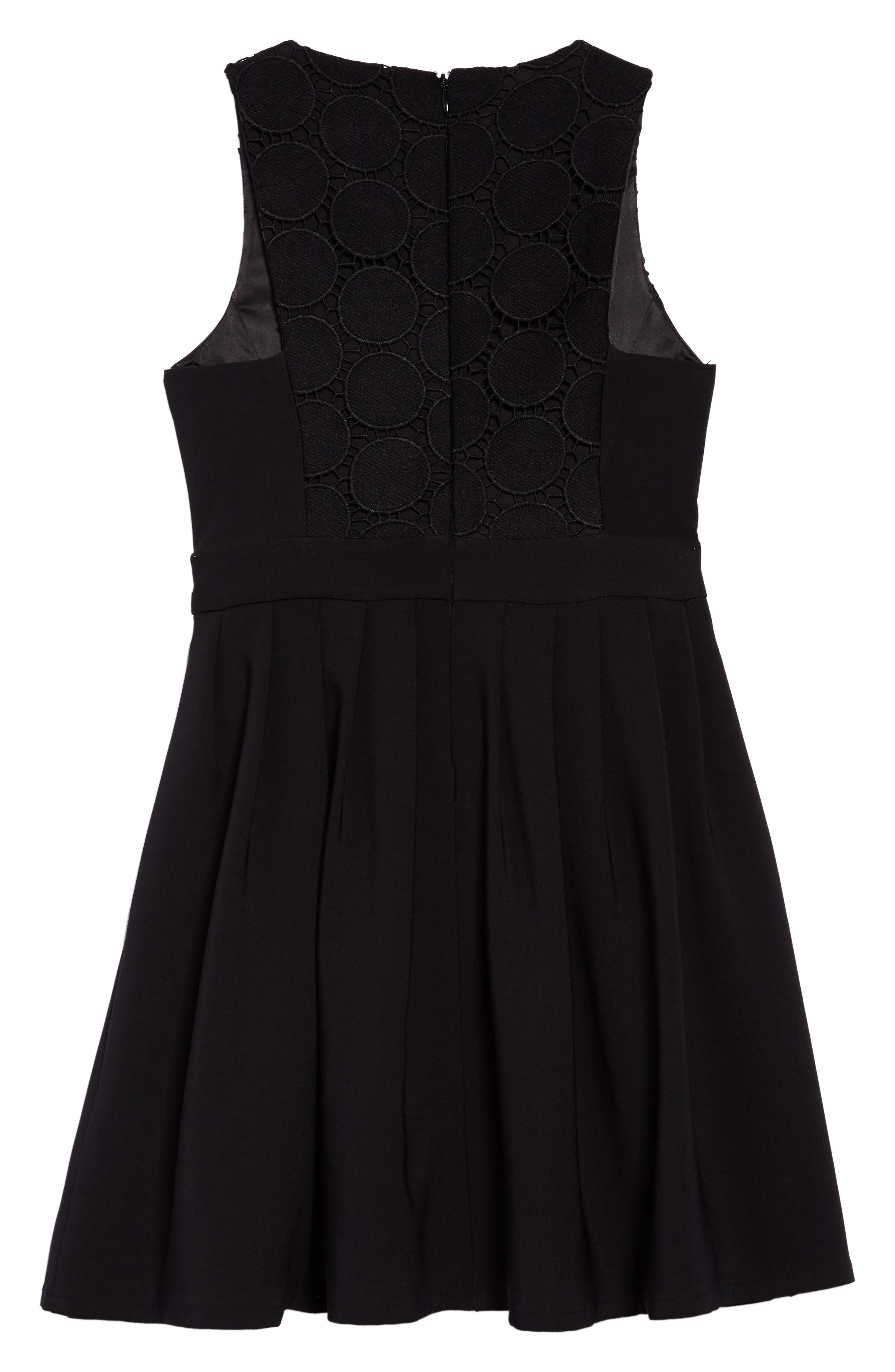 Miami Dress,                             Alternate thumbnail 2, color,                             Black