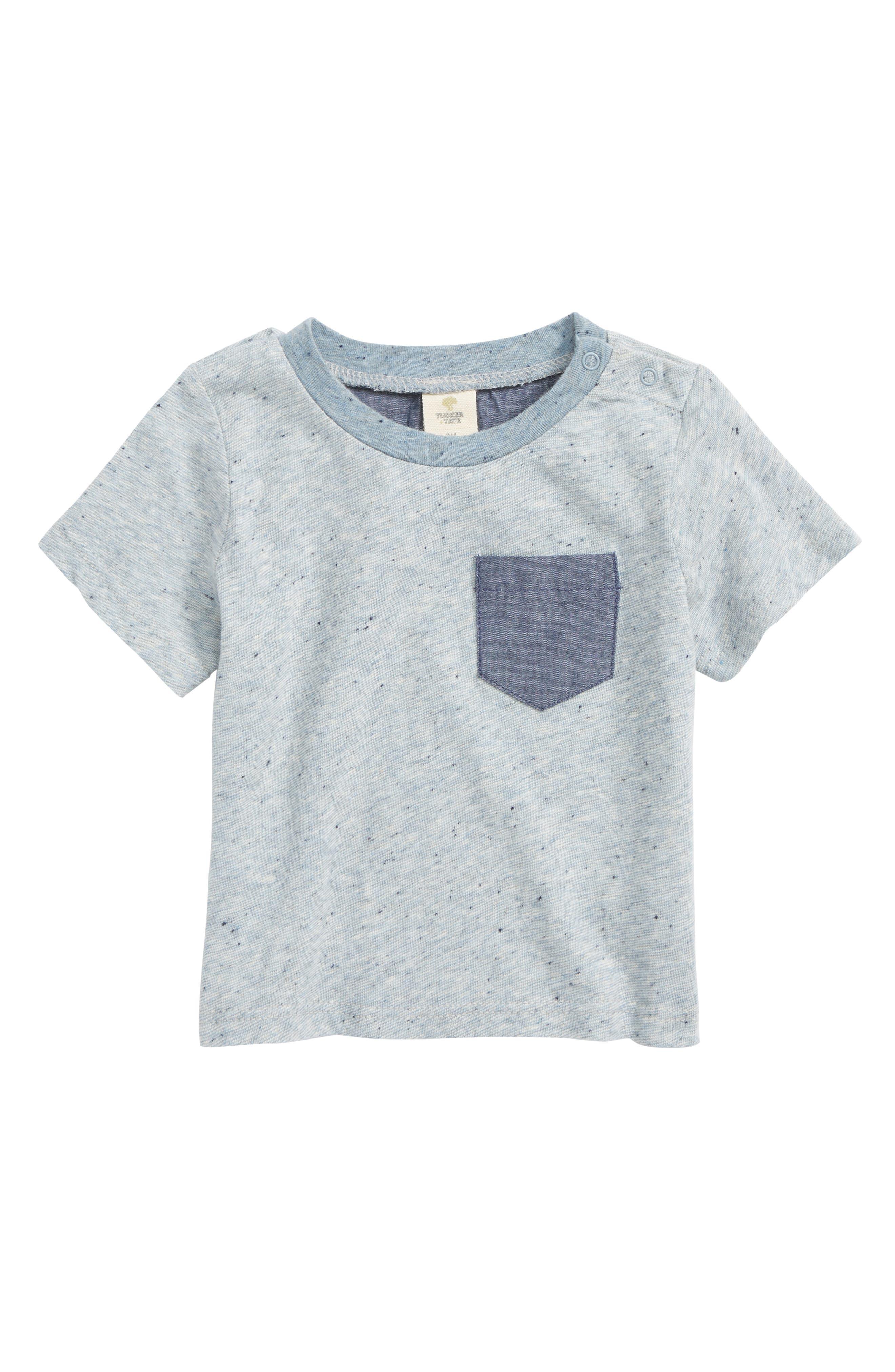 Pocket T-Shirt,                         Main,                         color, Blue Dusk