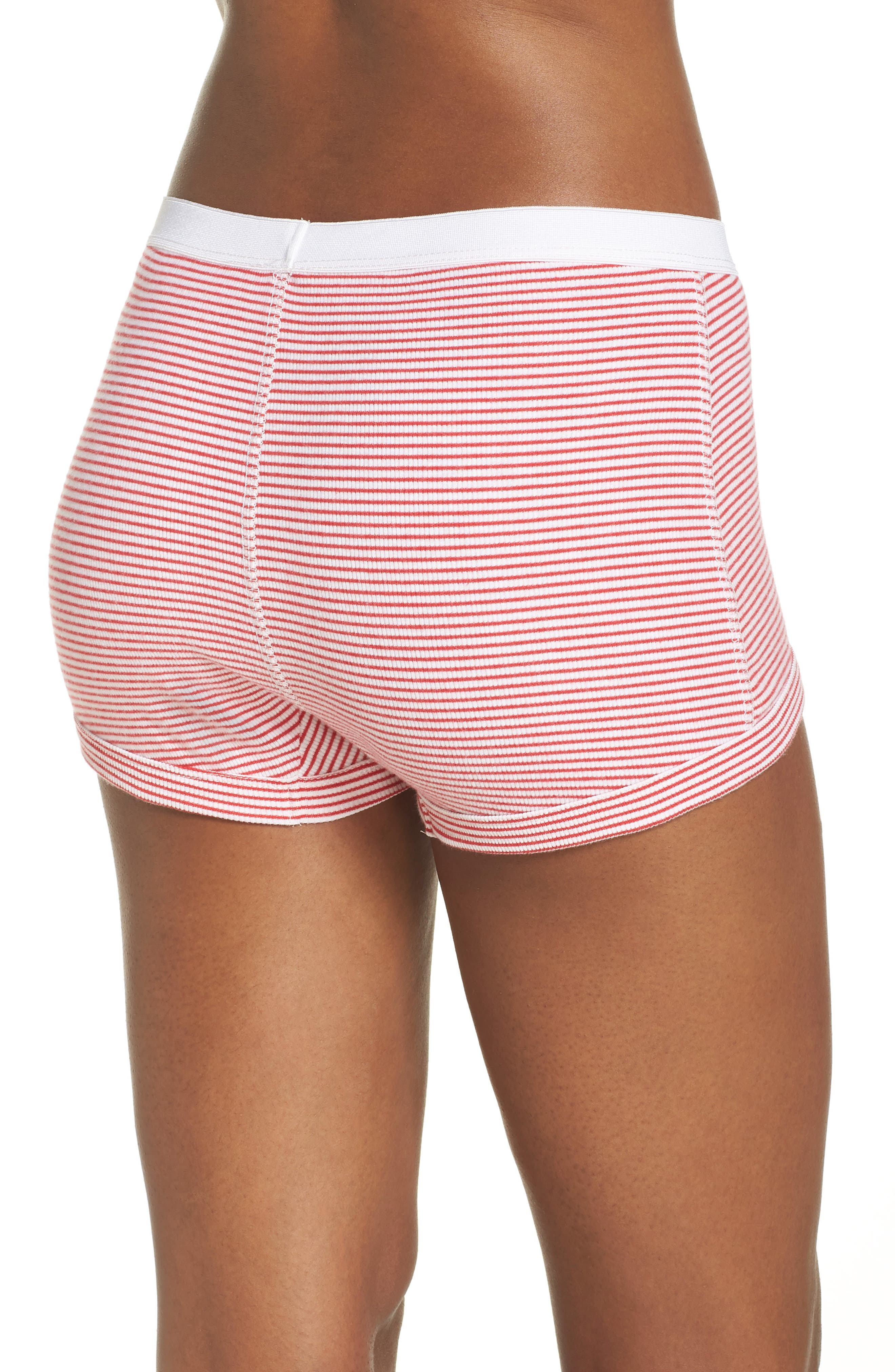Peony Shorts,                             Alternate thumbnail 2, color,                             Red Stripe
