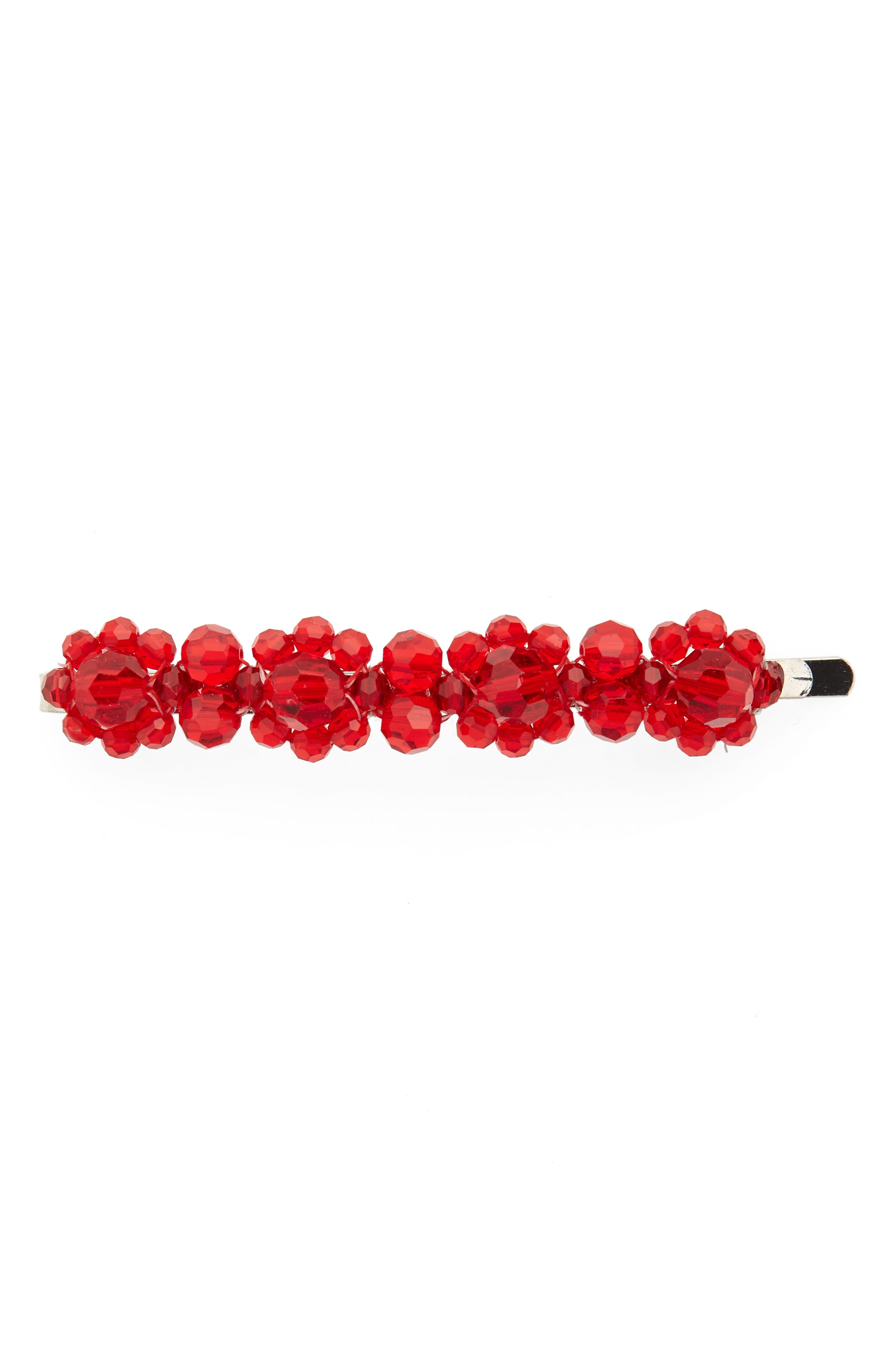 Simone Rocha Little Flower Beaded Hair Clip