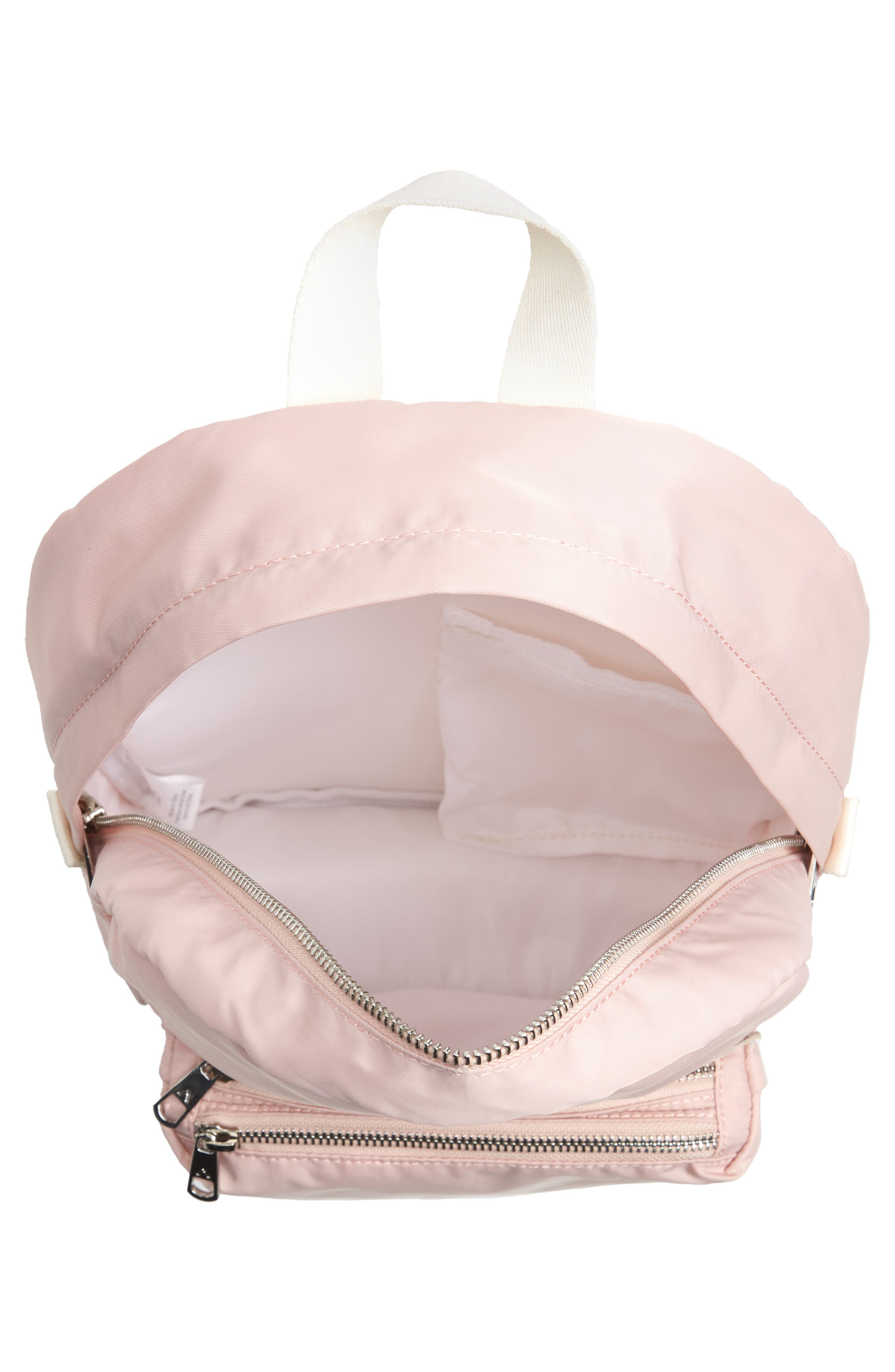 The Heights Mini Lorimer Nylon Backpack,                             Alternate thumbnail 4, color,                             Rose