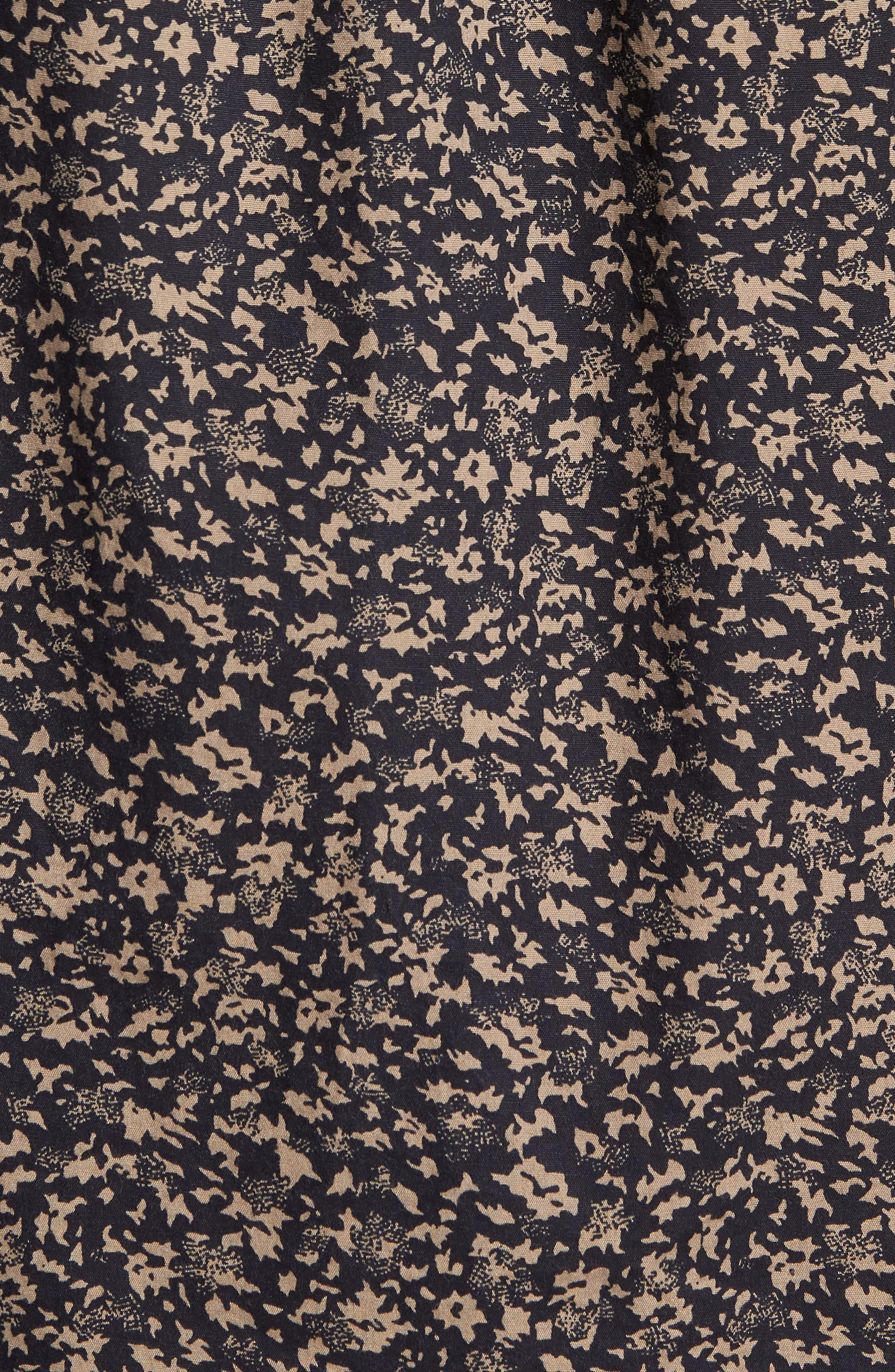Dresden Woven Shirt,                             Alternate thumbnail 5, color,                             Pirate Black