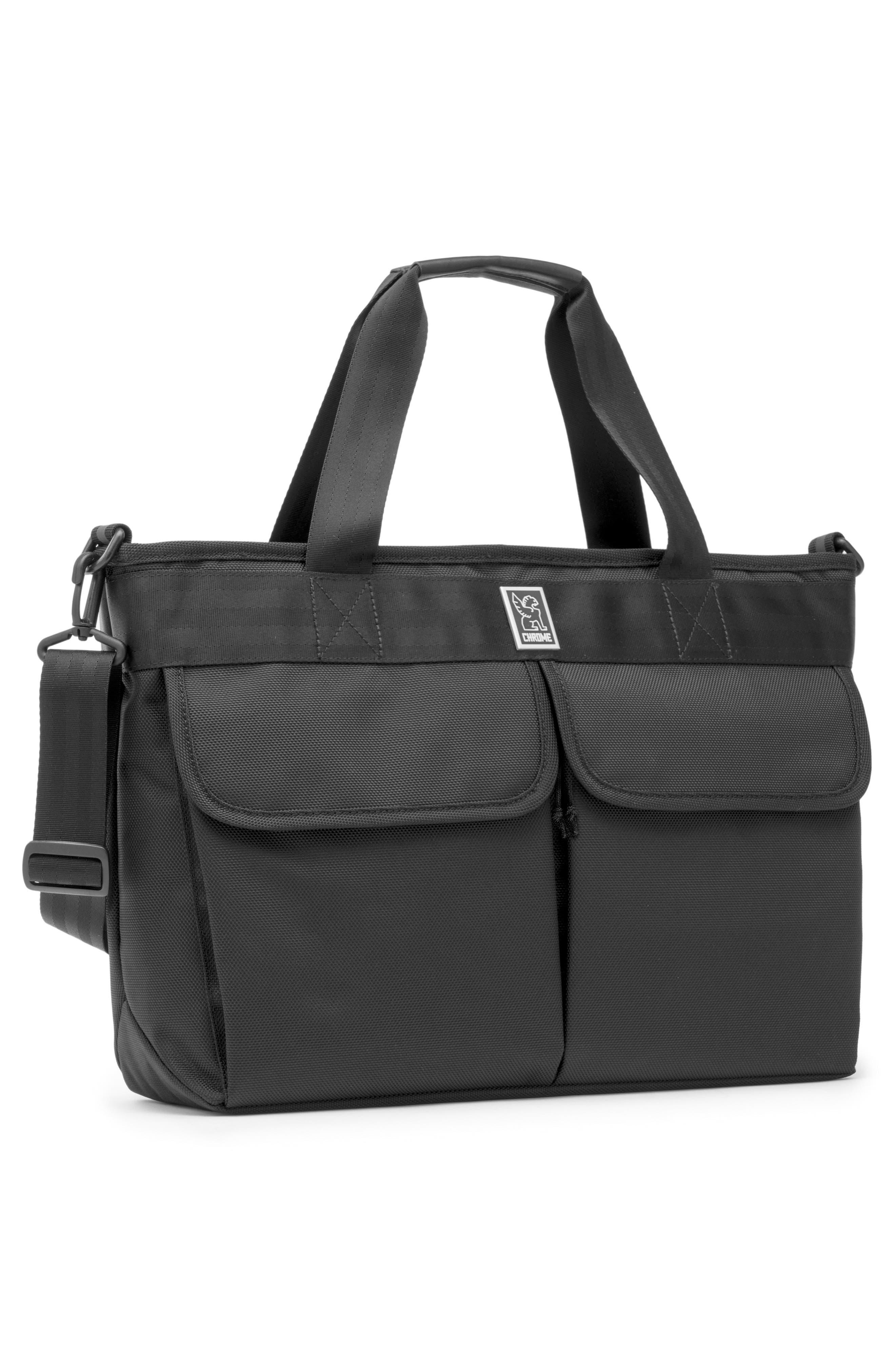 Juno Travel Tote Bag,                             Alternate thumbnail 4, color,                             All Black