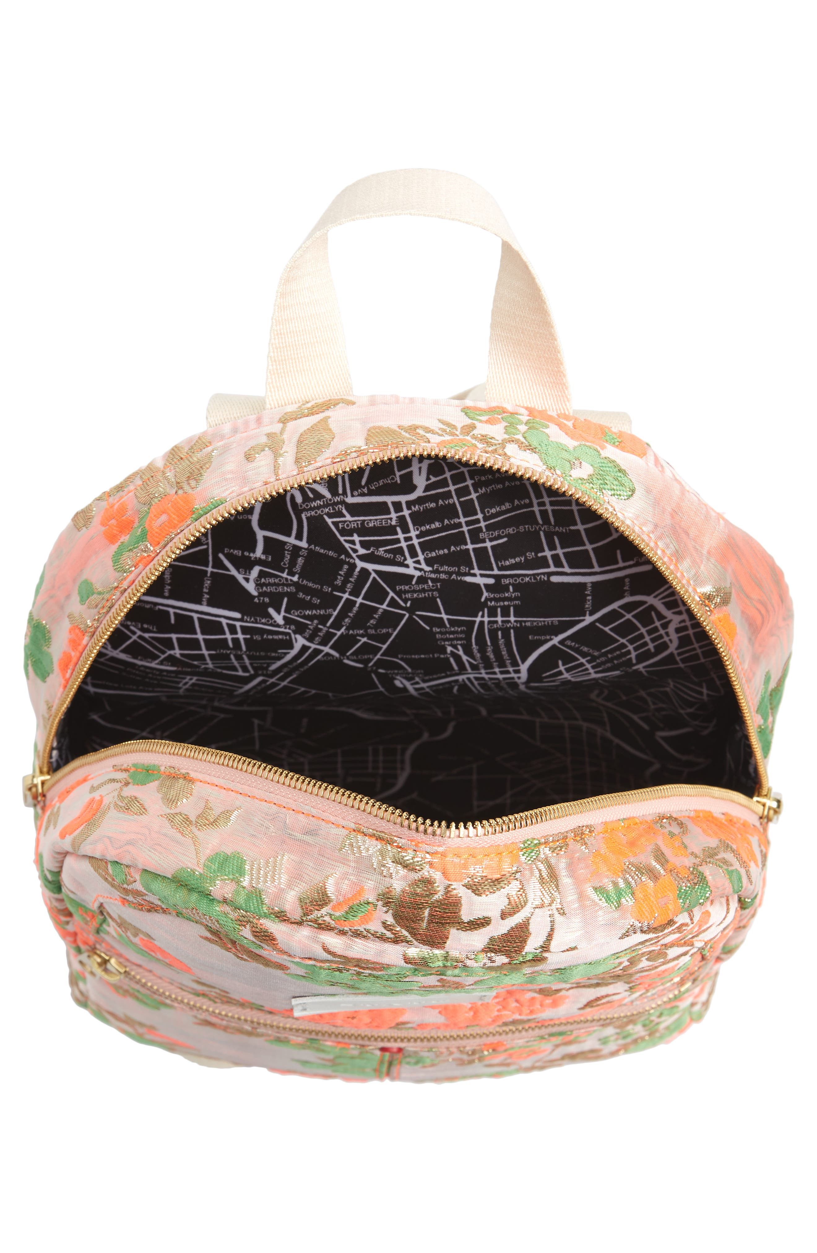 Alternate Image 4  - STATE Bags Mini Kane Brocade Backpack
