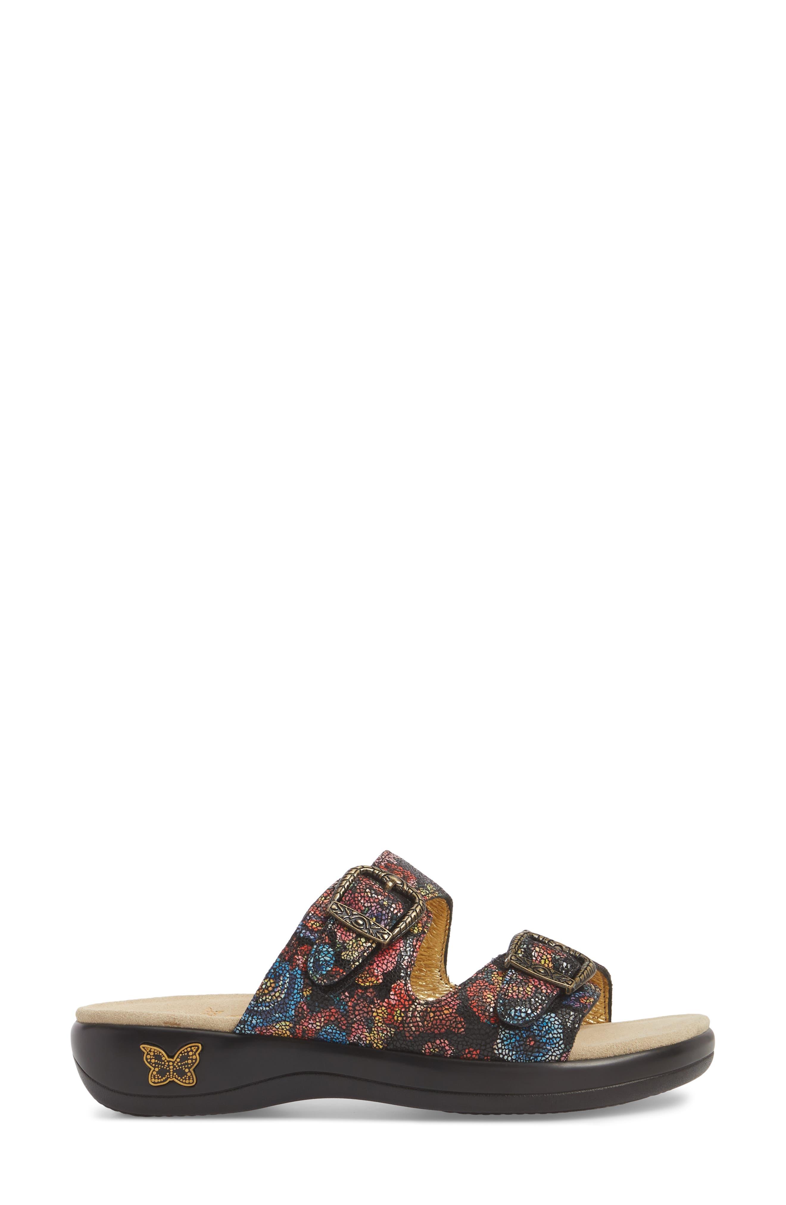 Jade Sandal,                             Alternate thumbnail 3, color,                             Florensic Files Leather