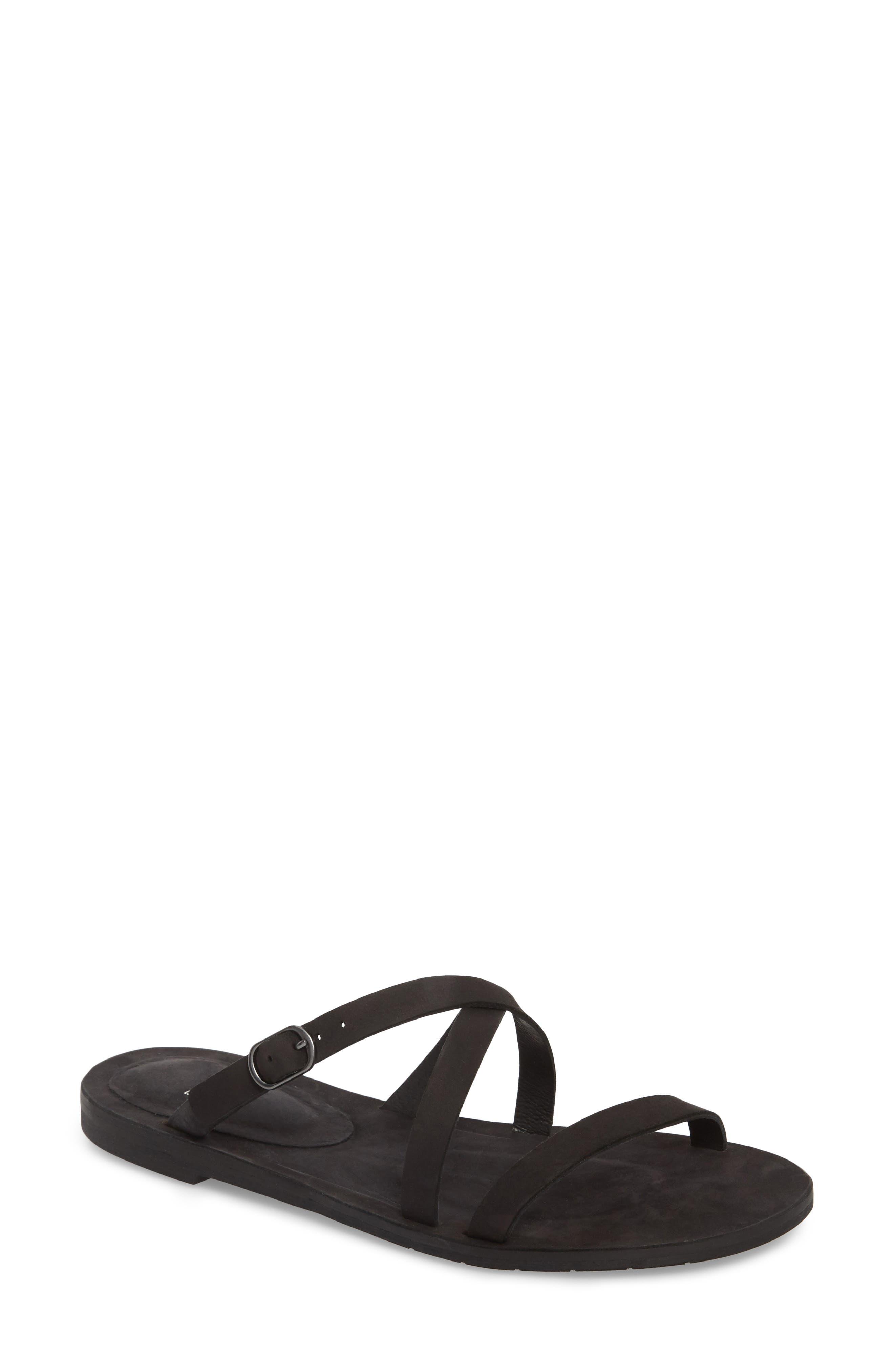 Eileen Fisher Dali Strappy Slide Sandal (Women)