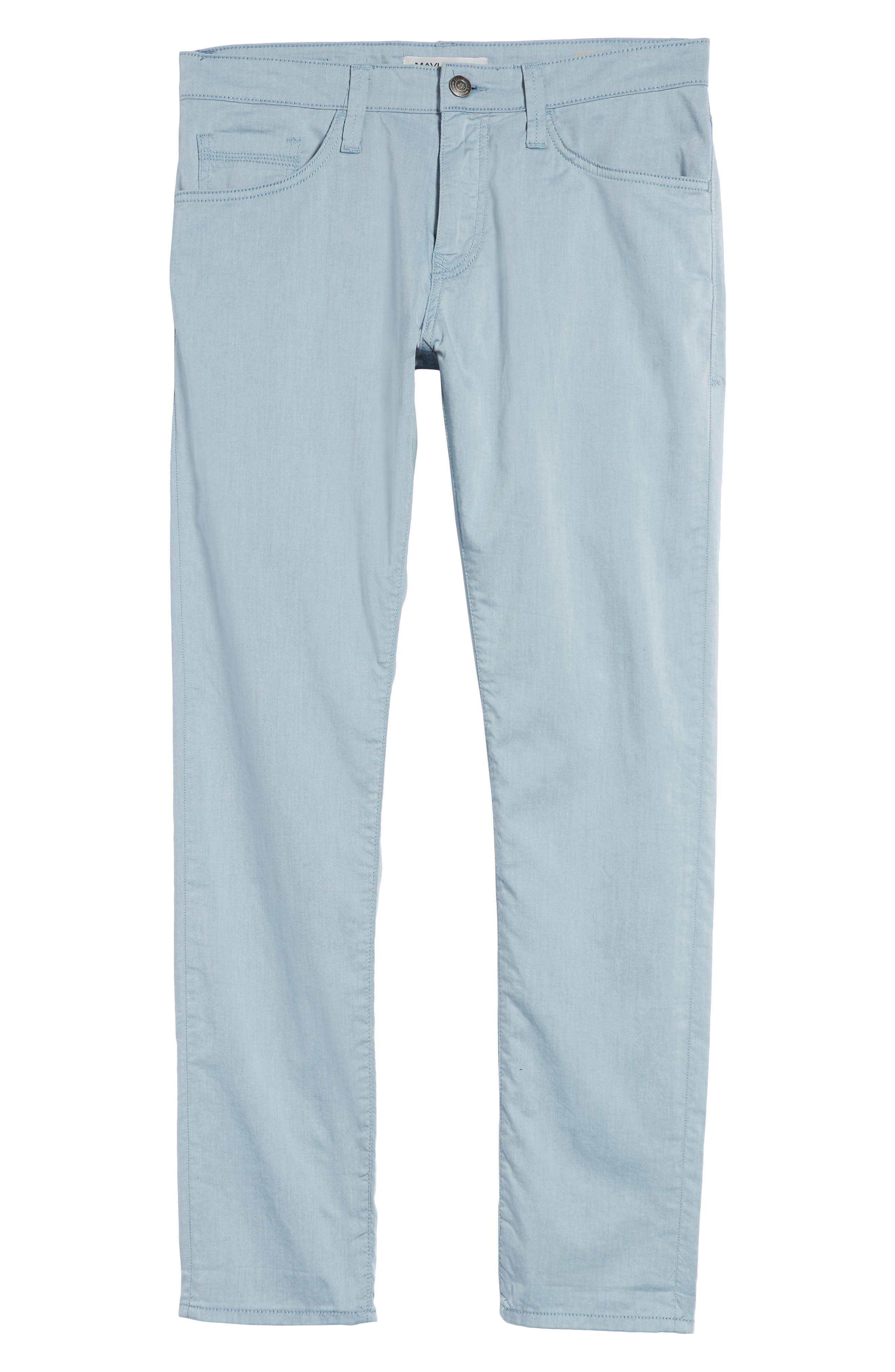 Jake Slim Fit Jeans,                             Alternate thumbnail 6, color,                             Blue Reversed