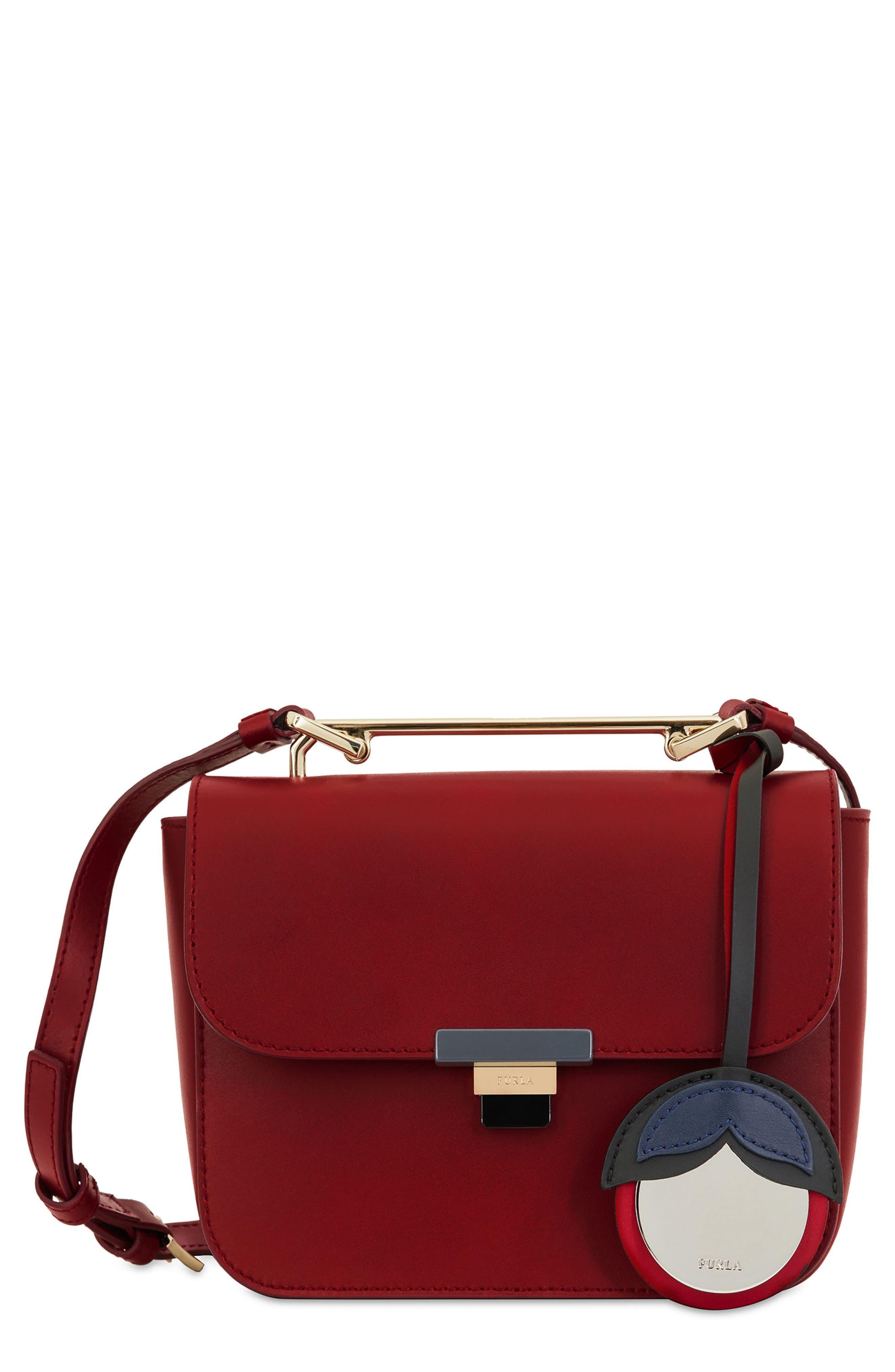 Elisir Mini Crossbody Bag,                             Main thumbnail 1, color,                             Ciliegia