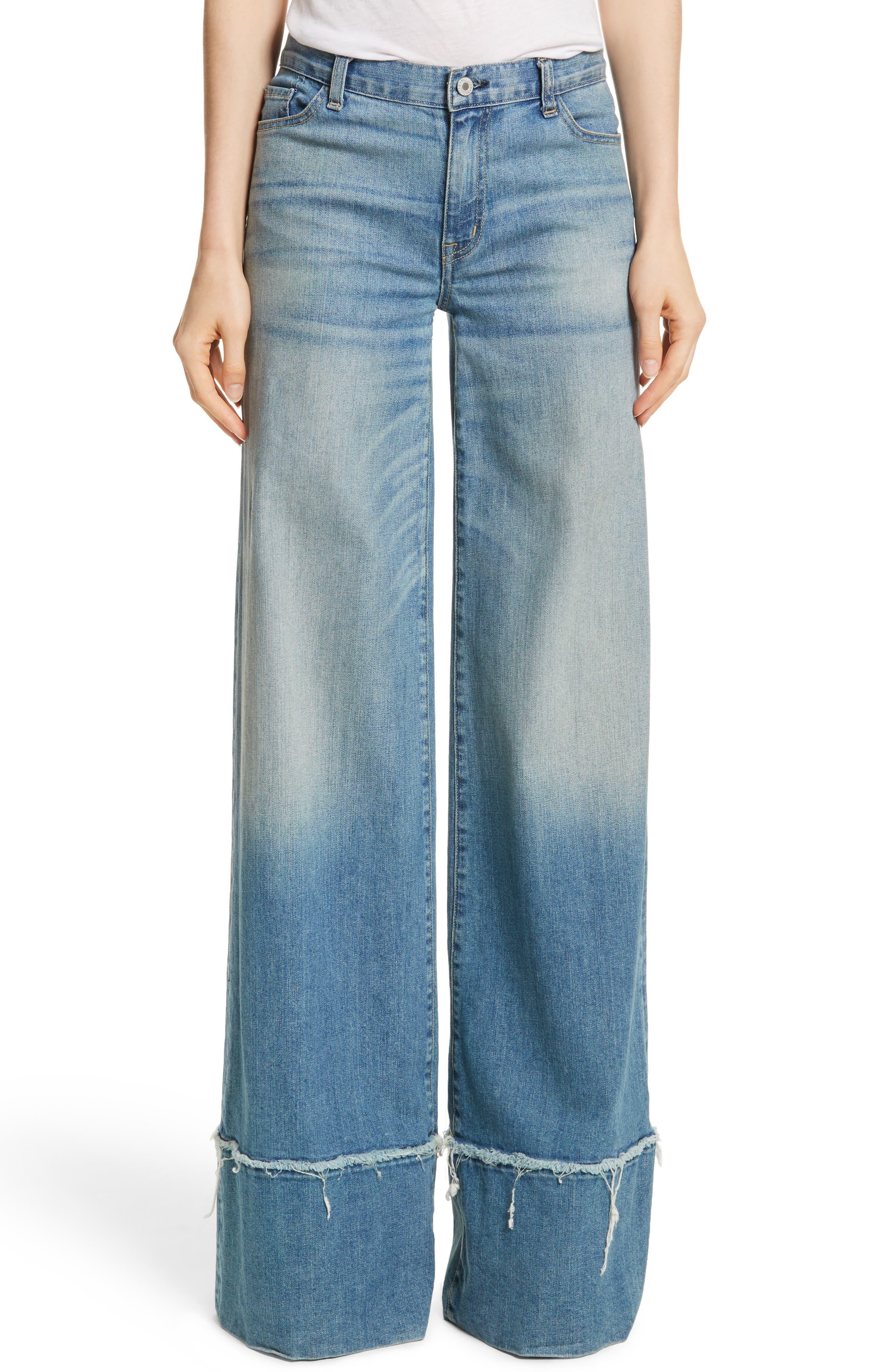 Nili Lotan Savina Wide Leg Jeans (Venice)