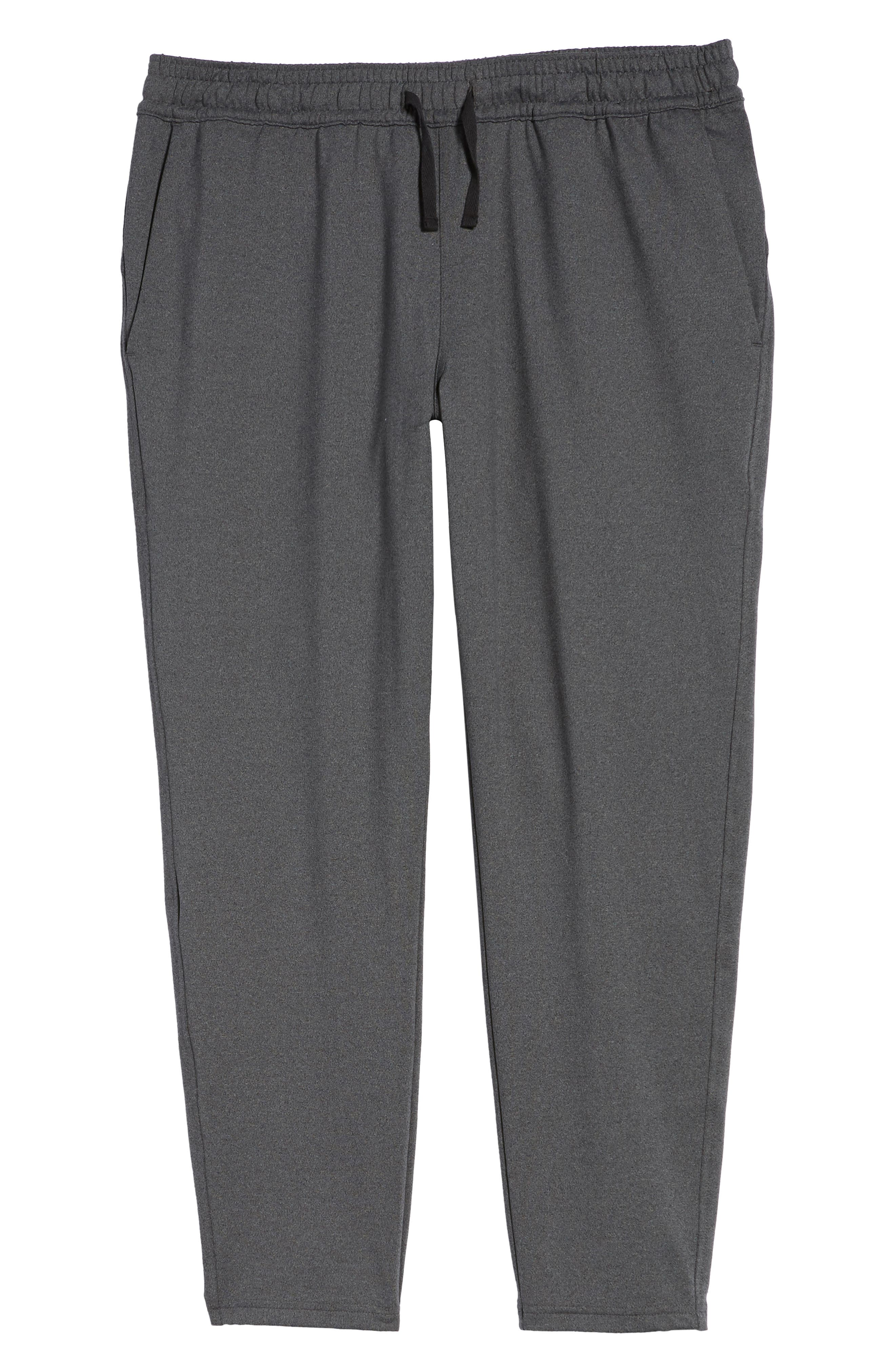 Active Crop Jogger Pants,                             Alternate thumbnail 5, color,                             Grey Obsidian Melange