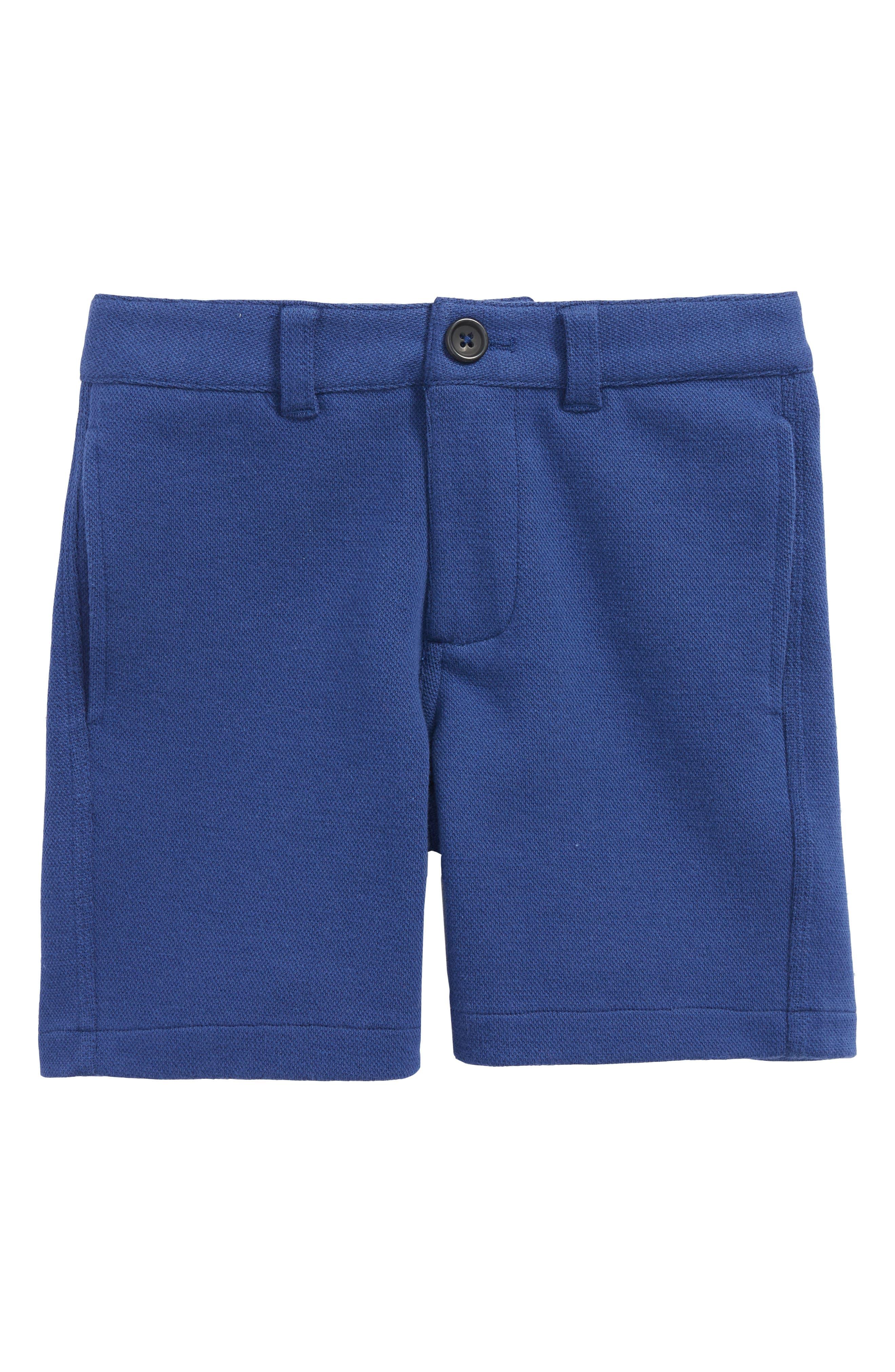 Jersey Chino Shorts,                         Main,                         color, Beacon Blue