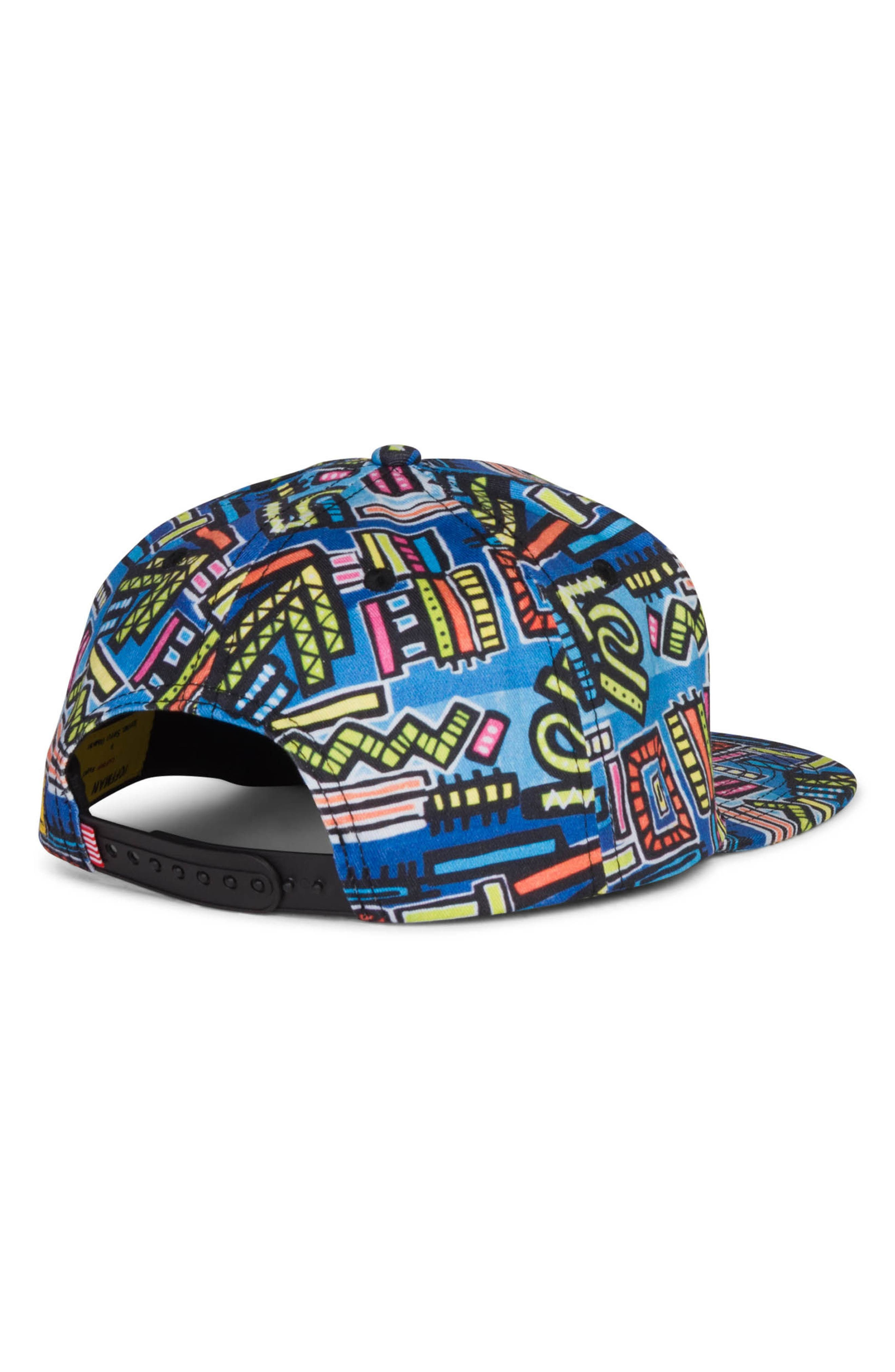 Dean - Hoffman Snapback Cap,                             Alternate thumbnail 2, color,                             Abstract Geo