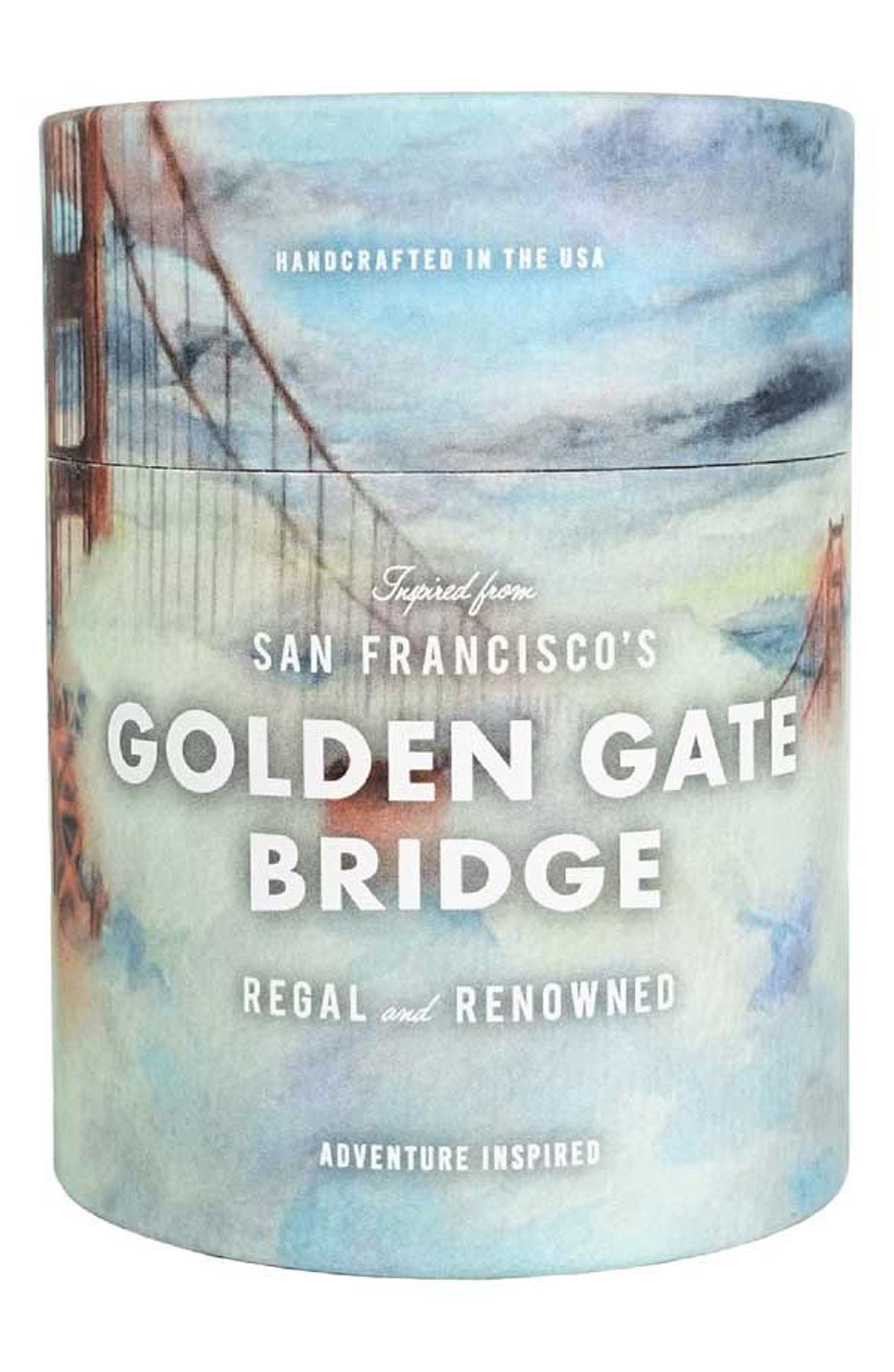 Ethics Candles San Francisco's Golden Gate Bridge Candle