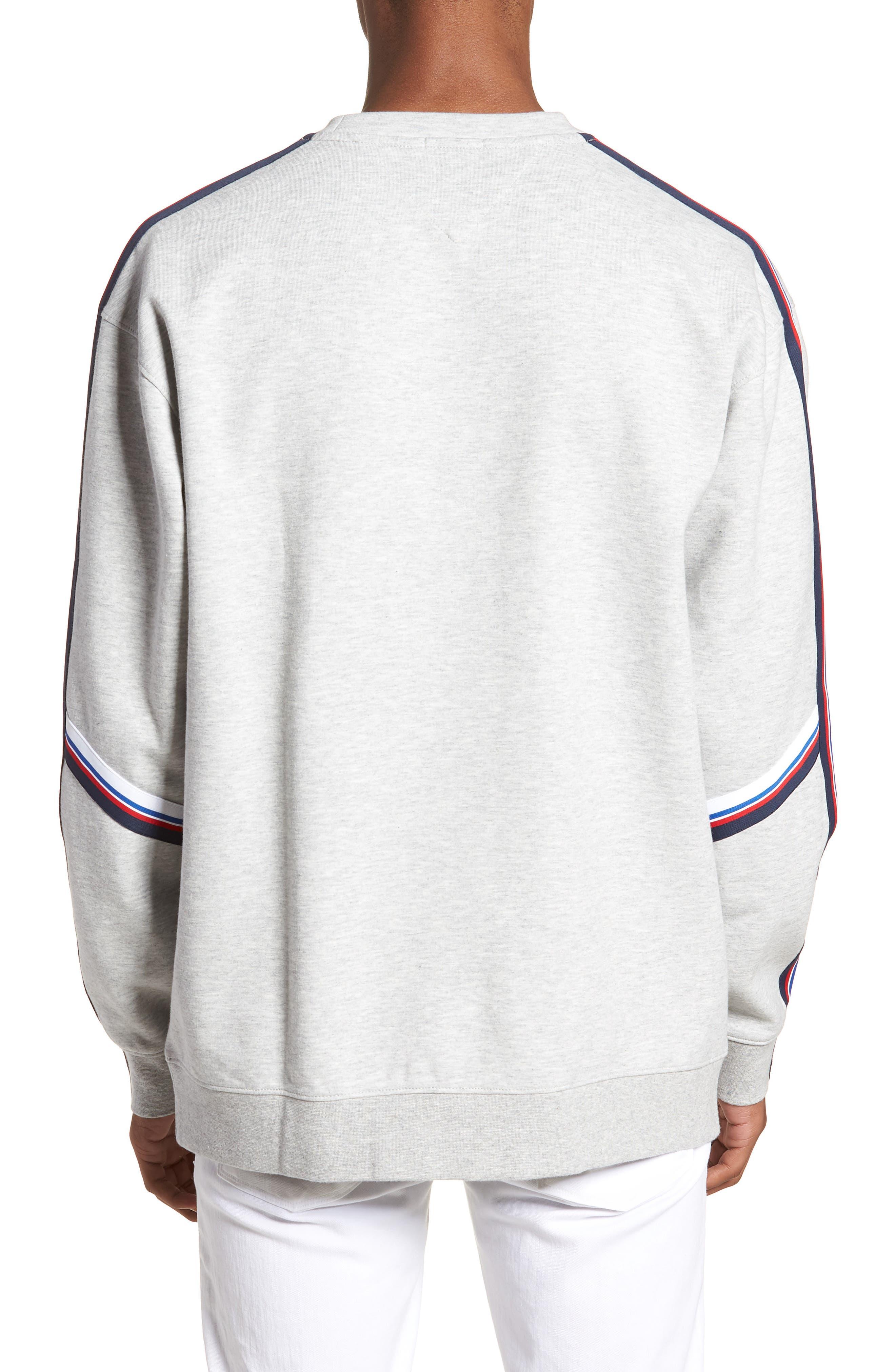 Alternate Image 2  - TOMMY JEANS Racing Stripe Sweatshirt