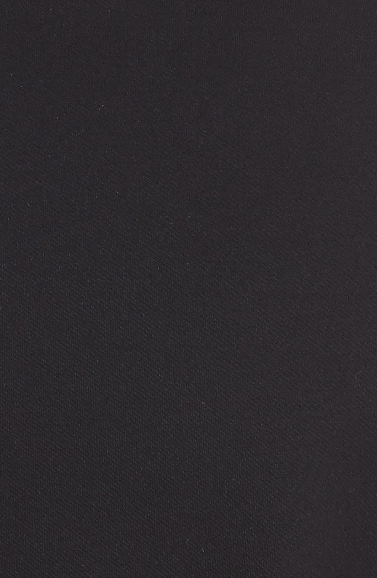 Playdate Stretch Knit Jumpsuit,                             Alternate thumbnail 7, color,                             Black