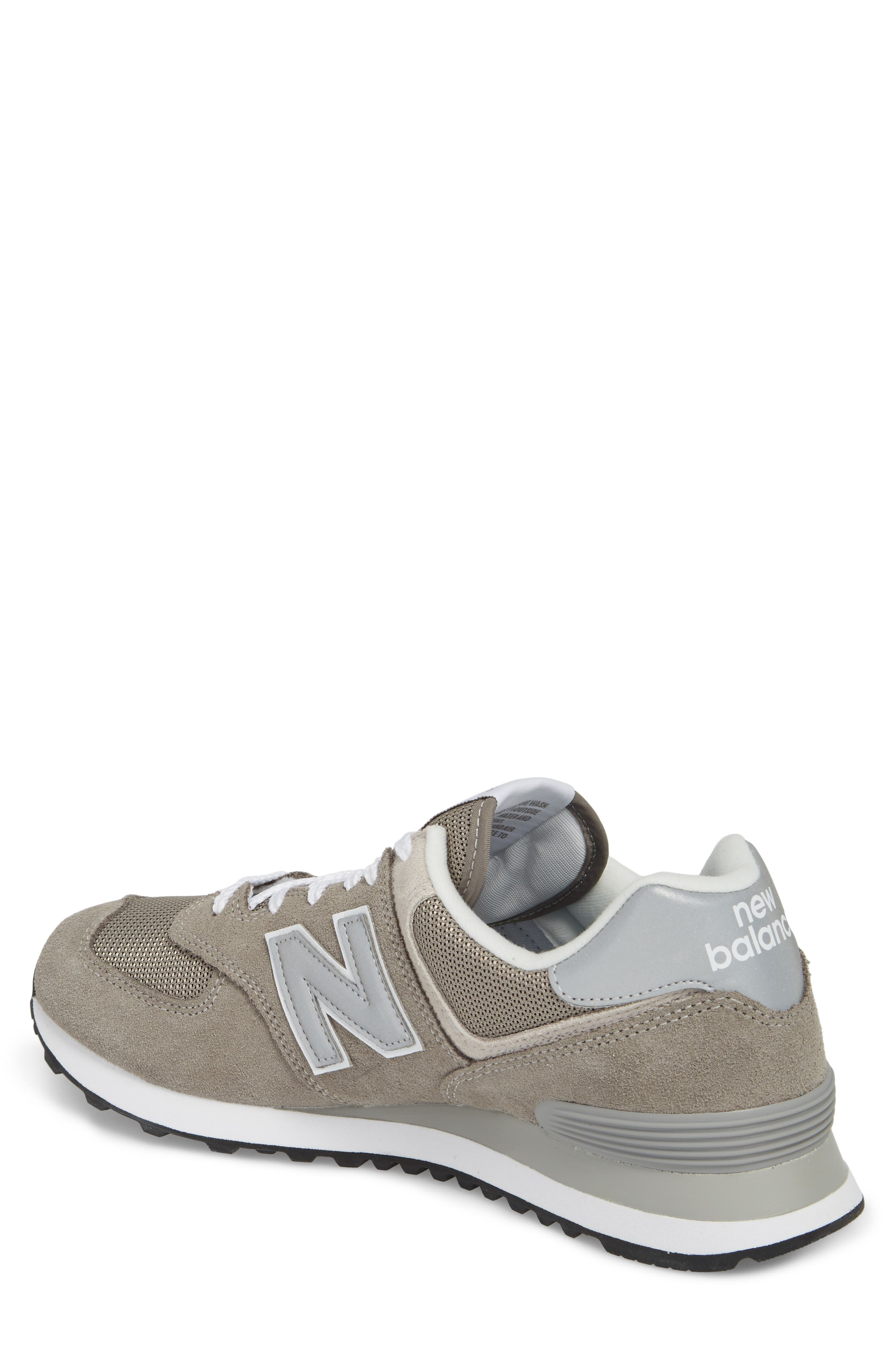 574 Classic Sneaker,                             Alternate thumbnail 2, color,                             Grey