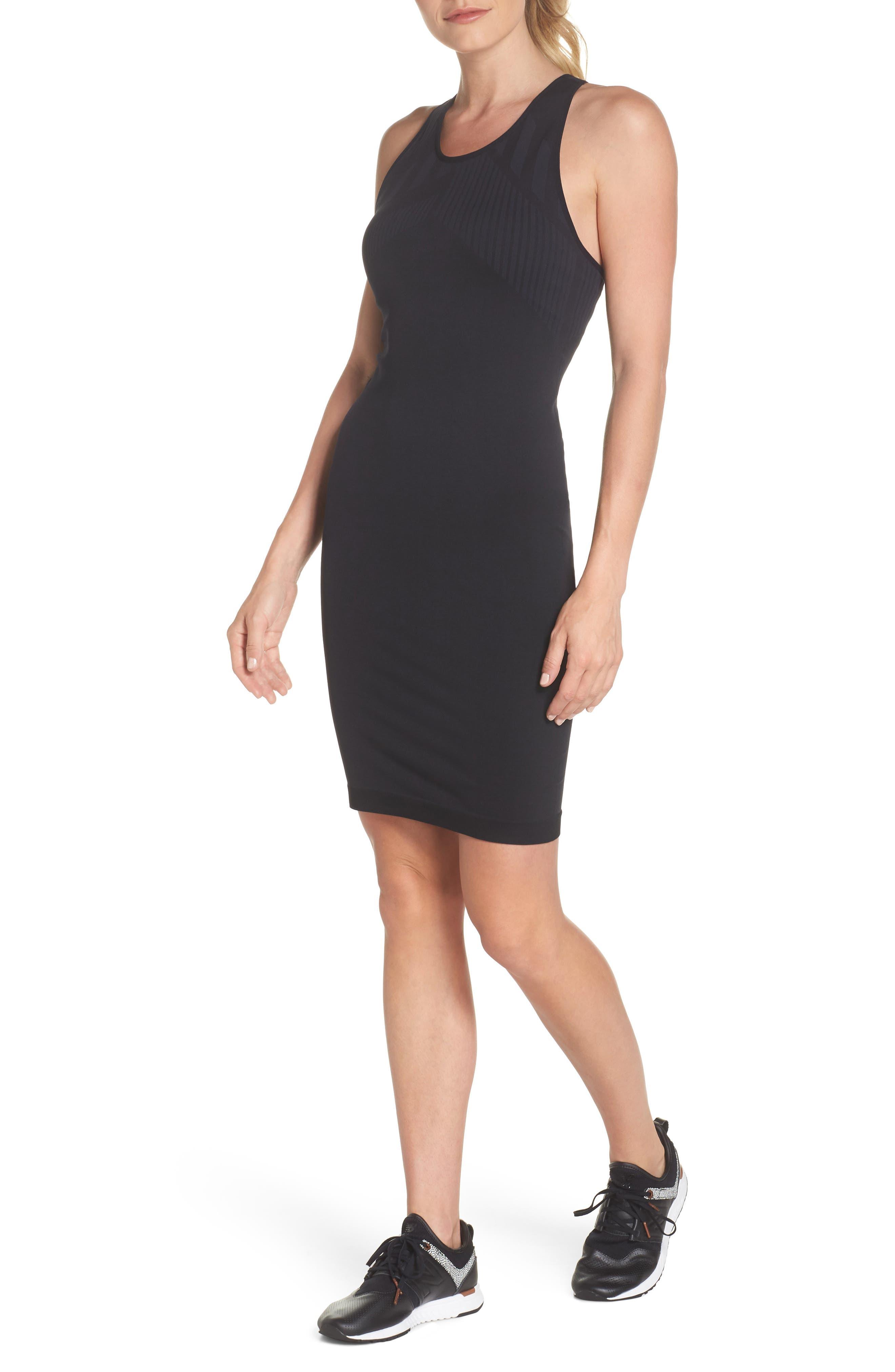 Spectrum Dress,                         Main,                         color, Black