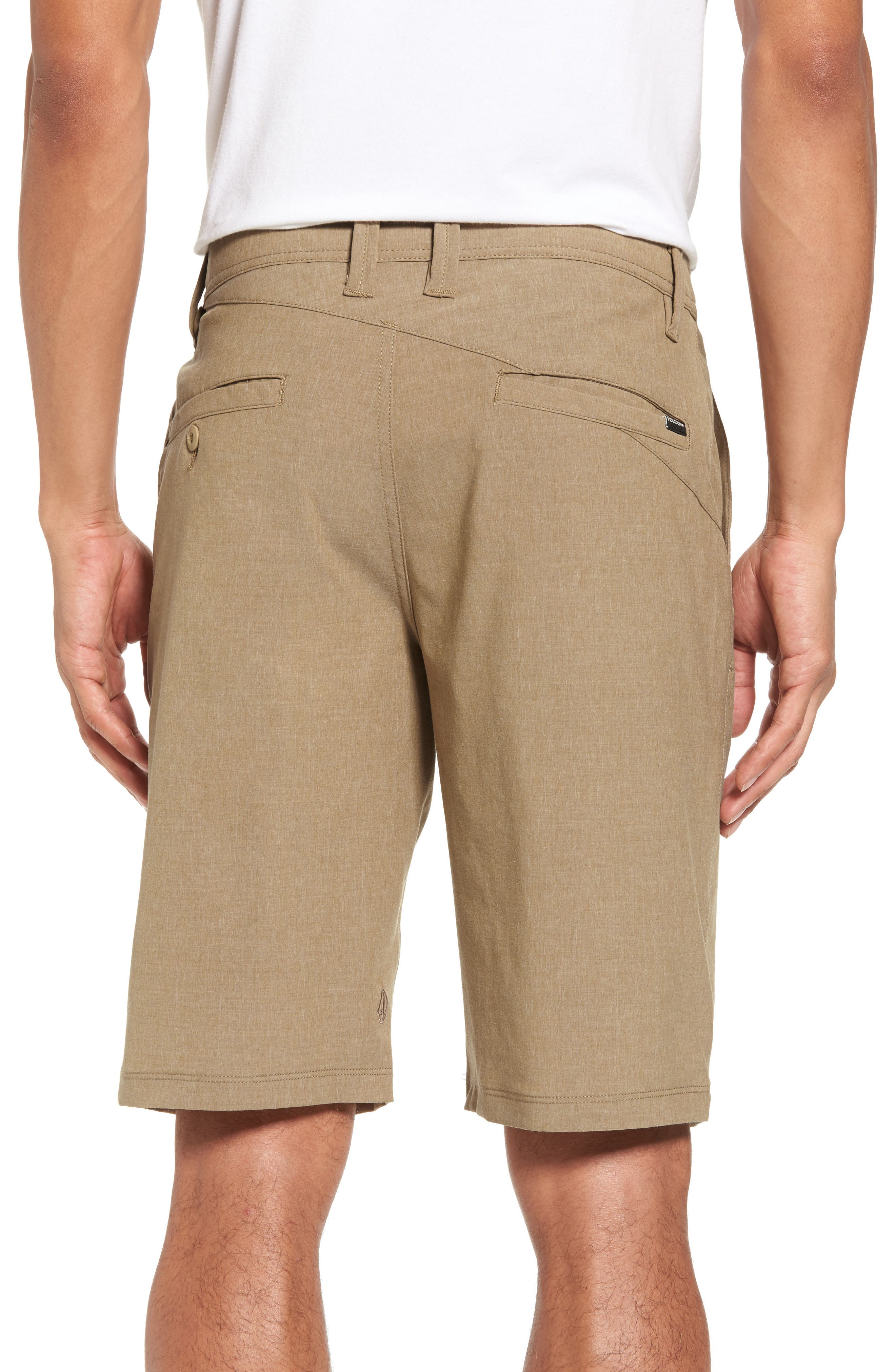 Hybrid Shorts,                             Alternate thumbnail 2, color,                             Beige