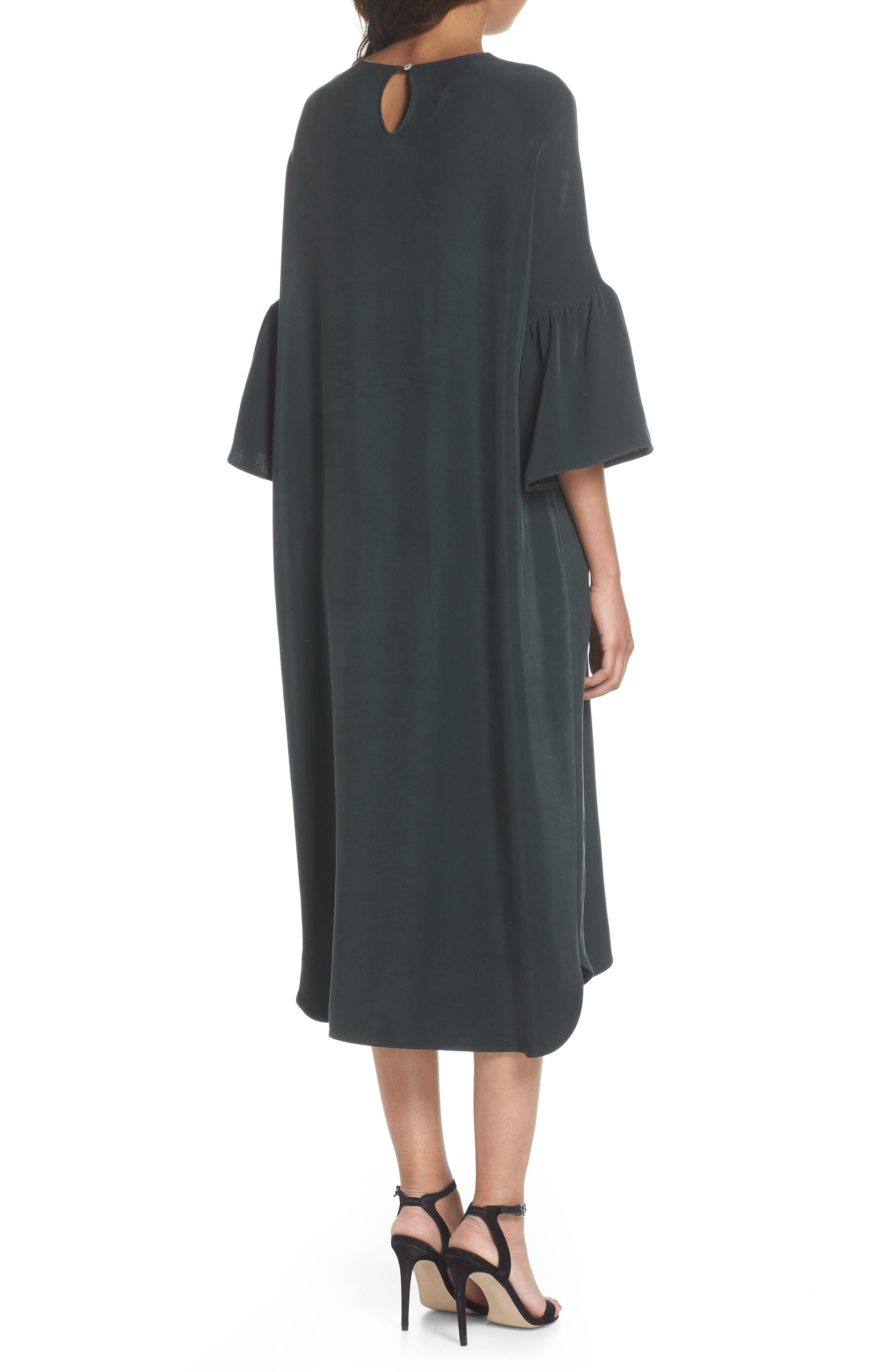Stroll In The Woods Shift Dress,                             Alternate thumbnail 2, color,                             Green