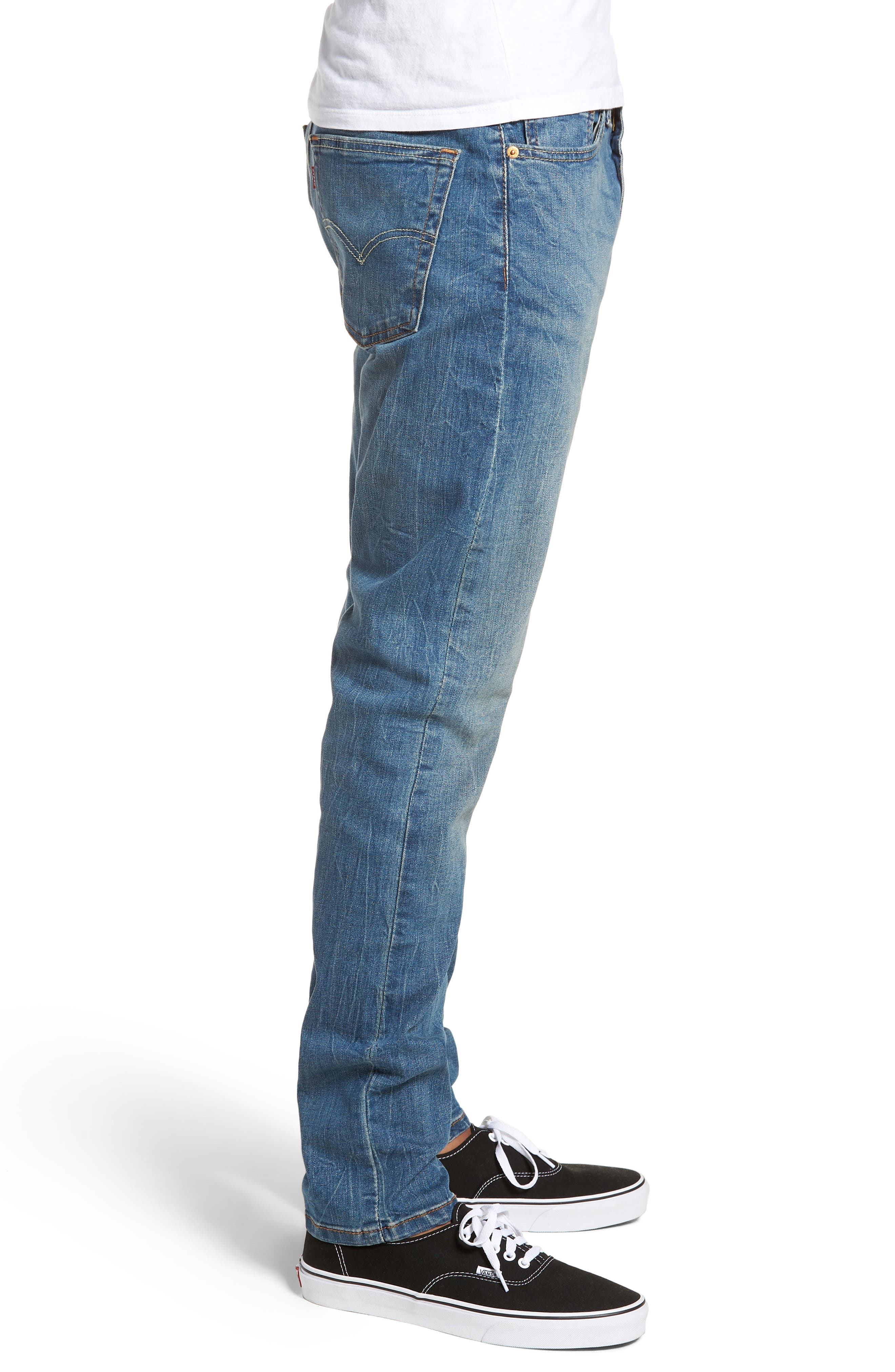 510<sup>™</sup> Skinny Fit Jeans,                             Alternate thumbnail 3, color,                             Lake Anza