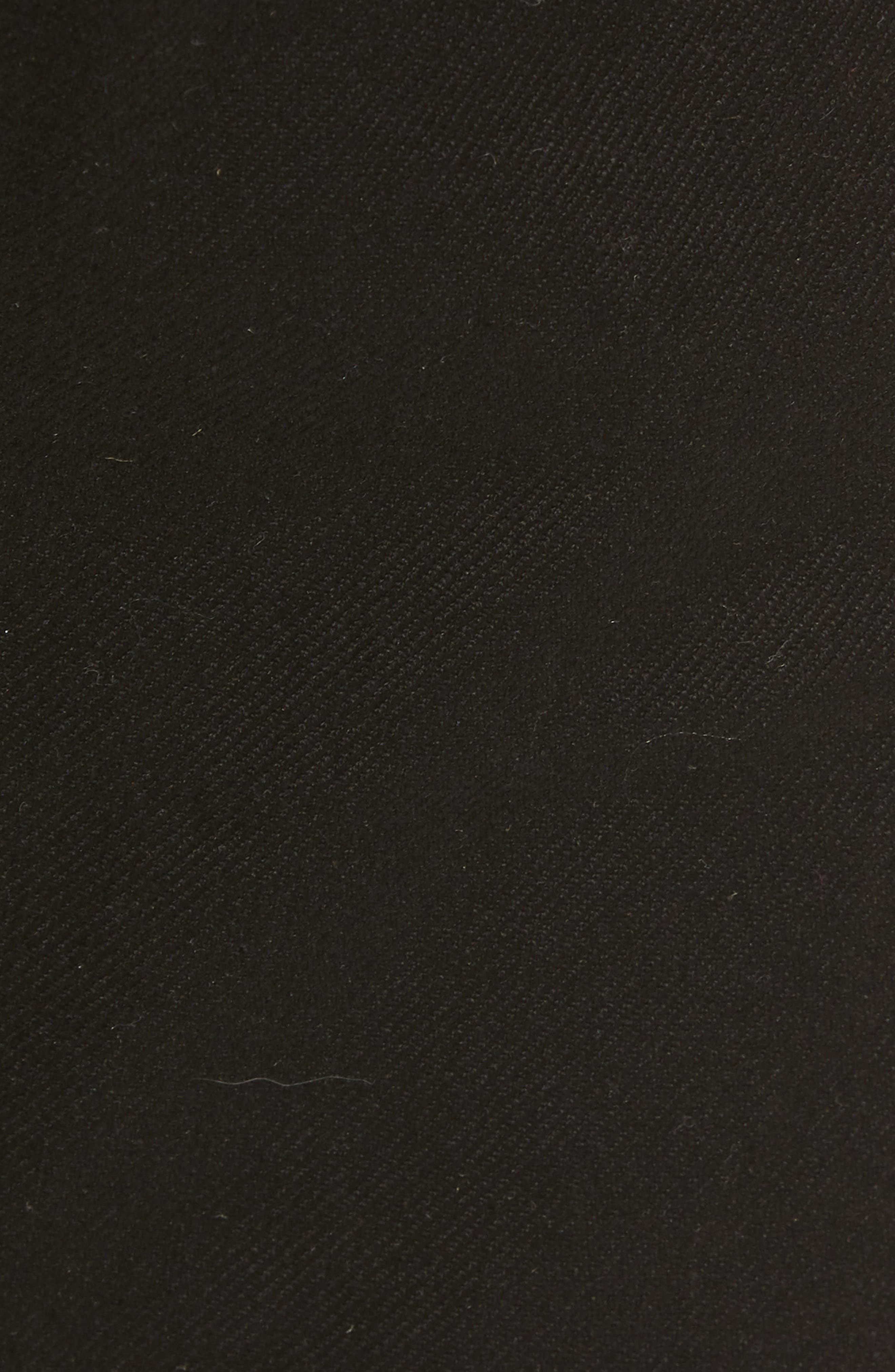 Maine Straight Leg Jeans,                             Alternate thumbnail 5, color,                             Black