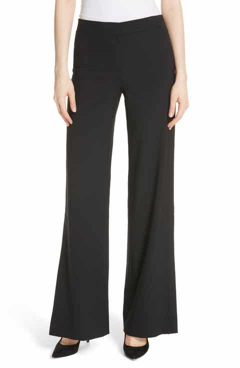Theory High Slit Admiral Crepe Pants