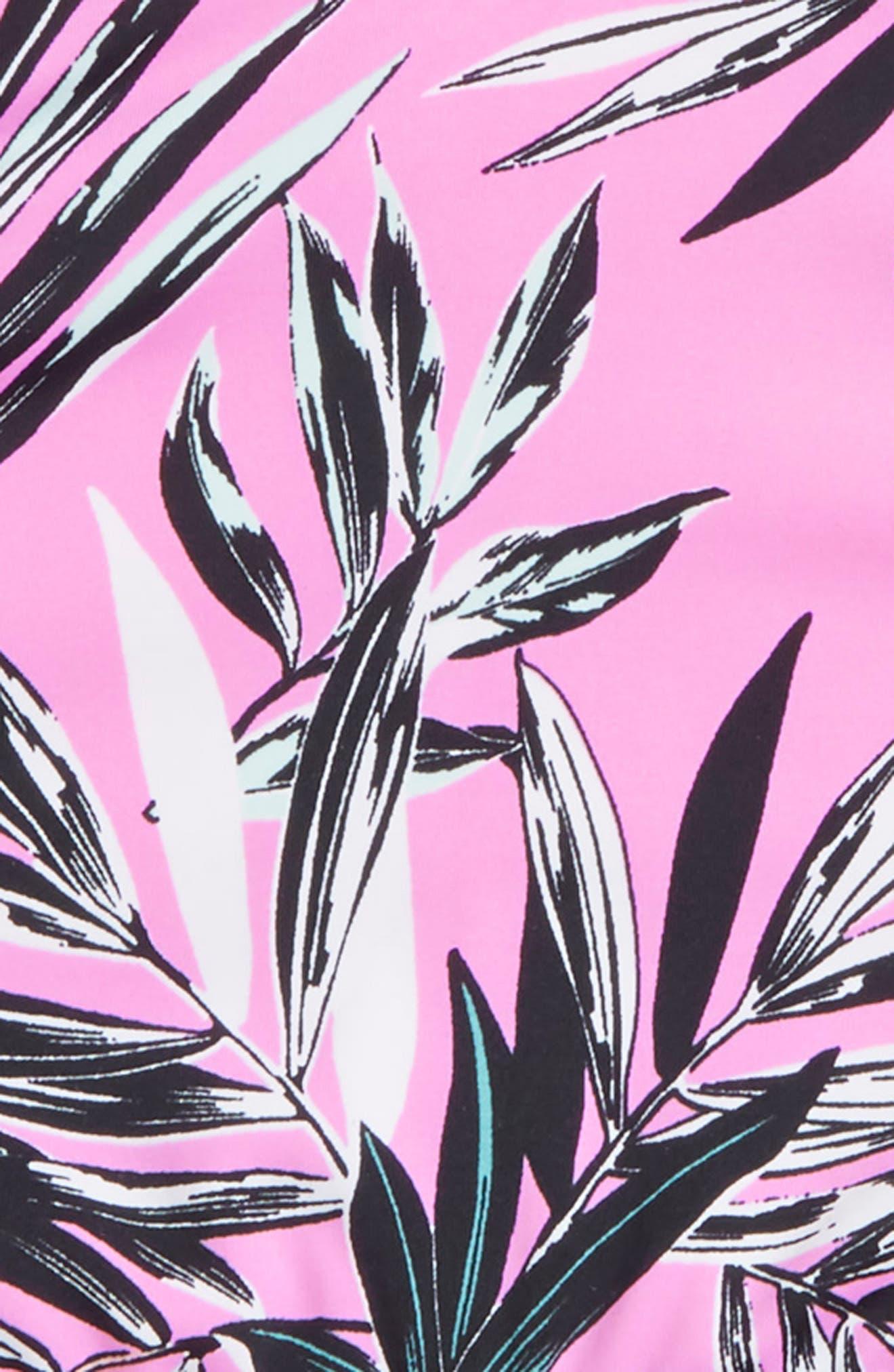 Shara Ruffle Two-Piece Swimsuit,                             Alternate thumbnail 2, color,                             Fuchsia