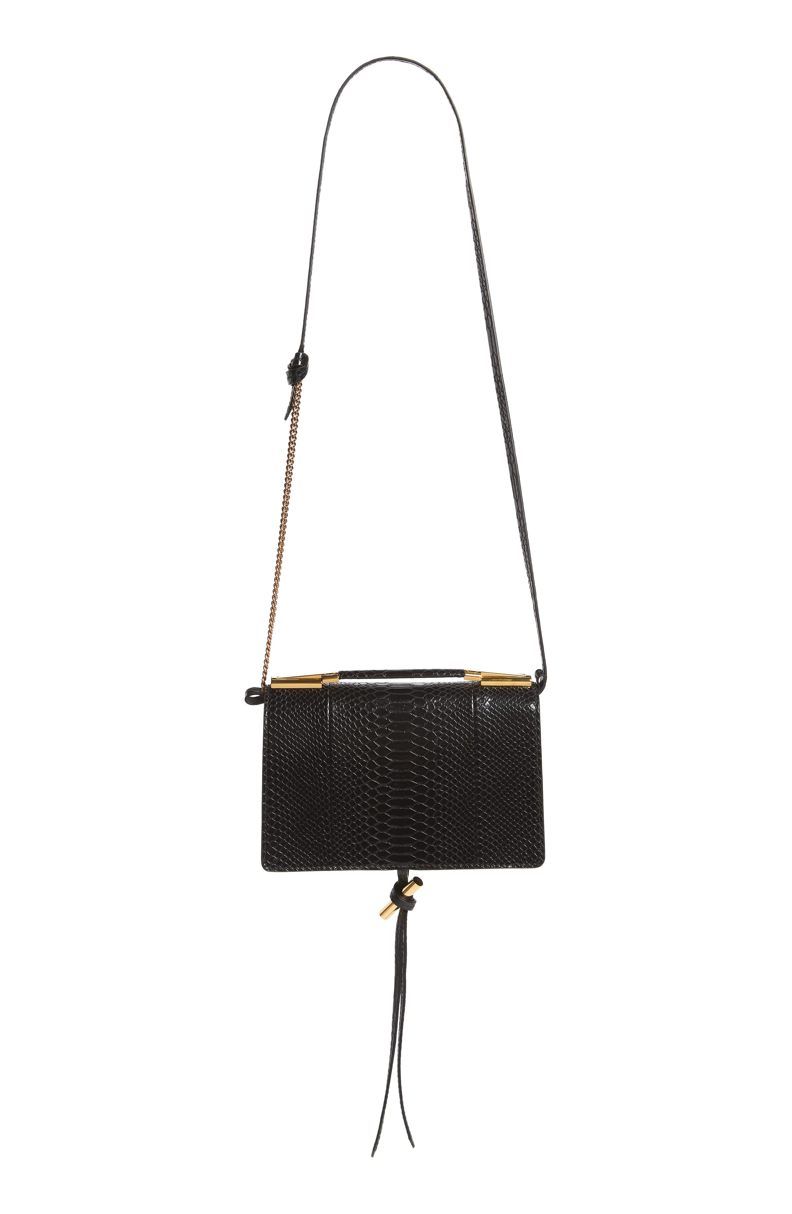 Alternate Image 3  - Stella McCartney Small Flo Alter Snake Faux Leather Shoulder Bag