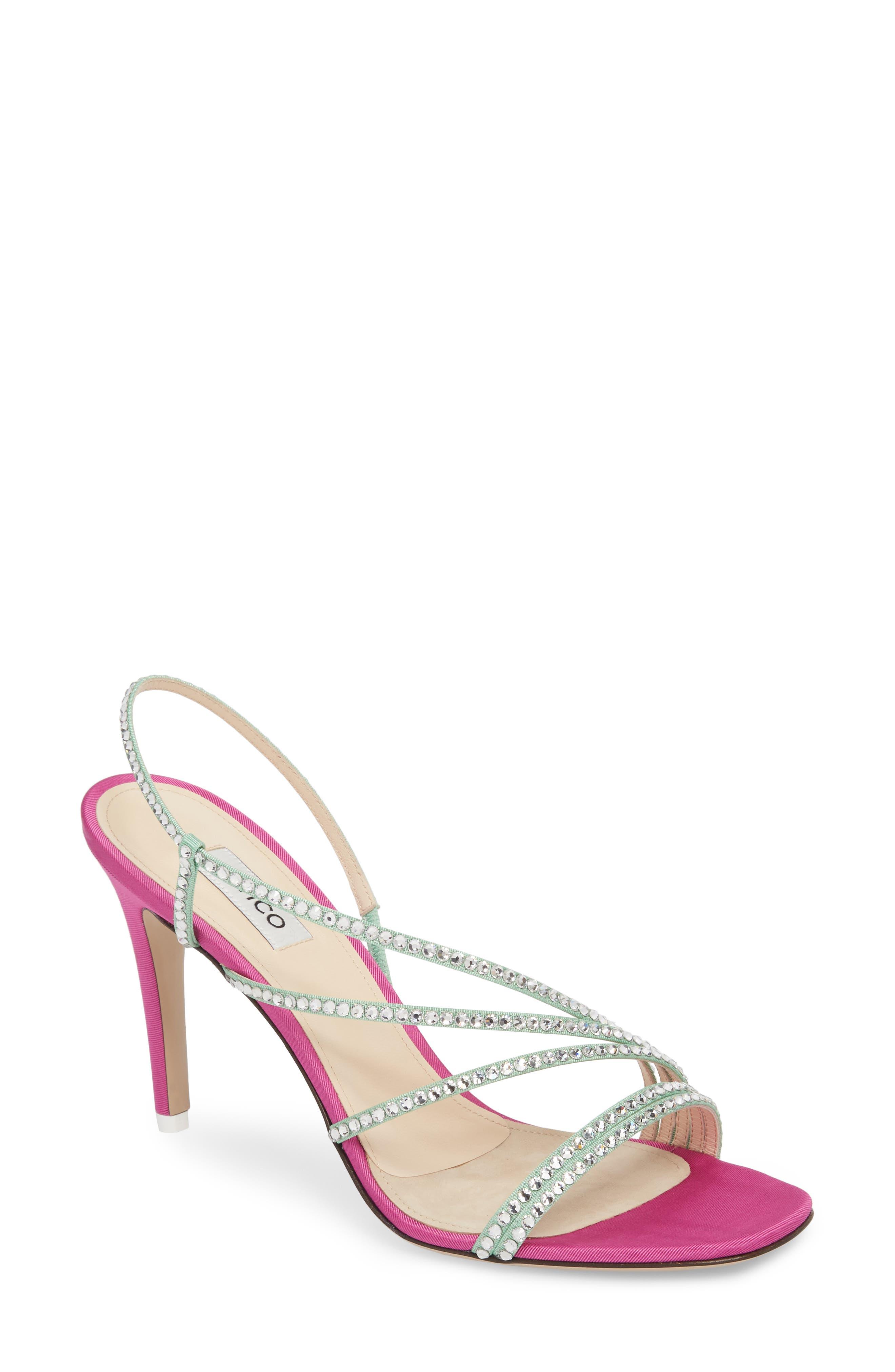 ATTICO Crystal Strappy Sandals J7Zfmq