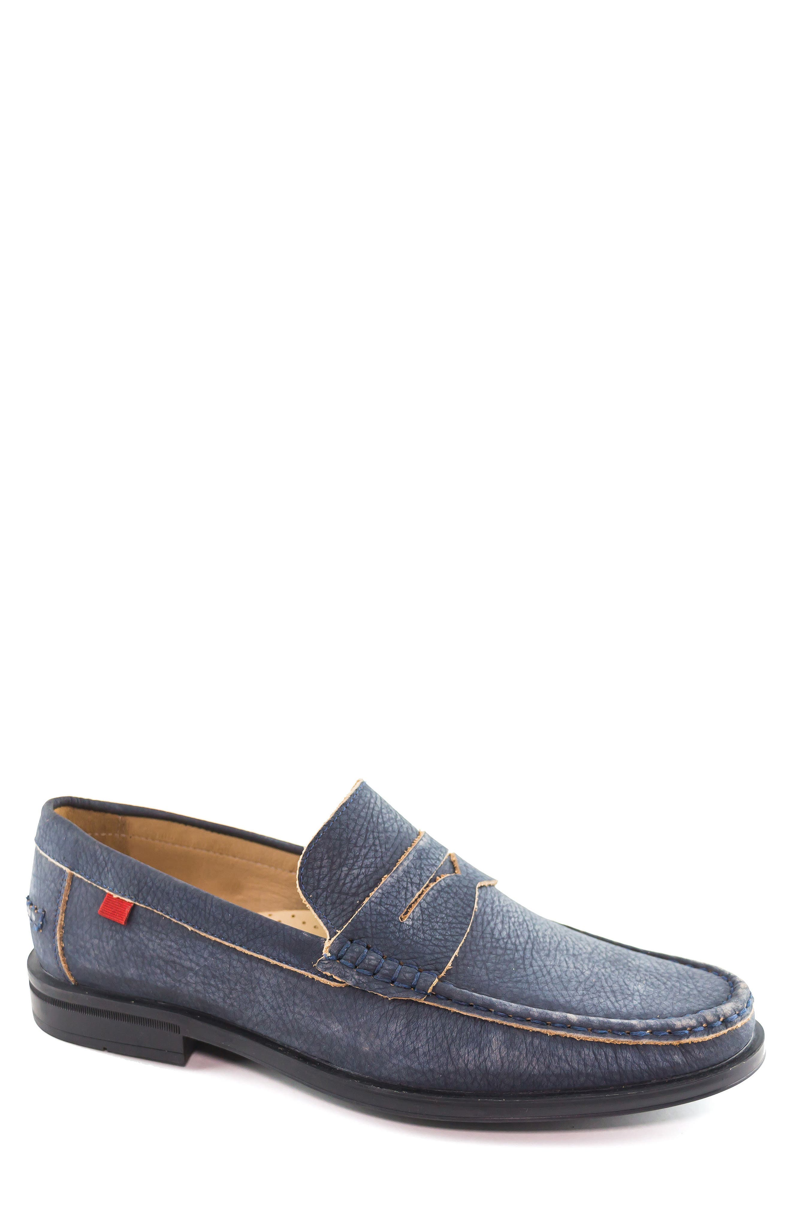 Cortland Penny Loafer,                         Main,                         color, Navy