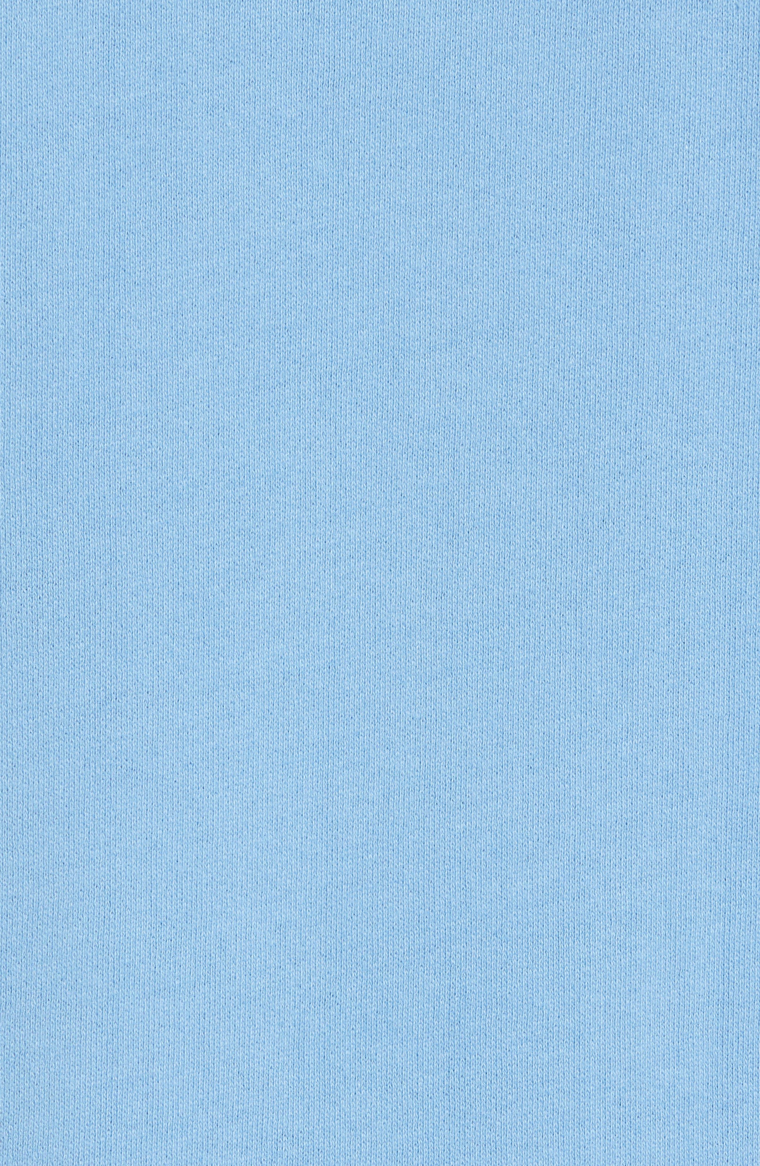 Fleece Hoodie,                             Alternate thumbnail 5, color,                             Blue Lake
