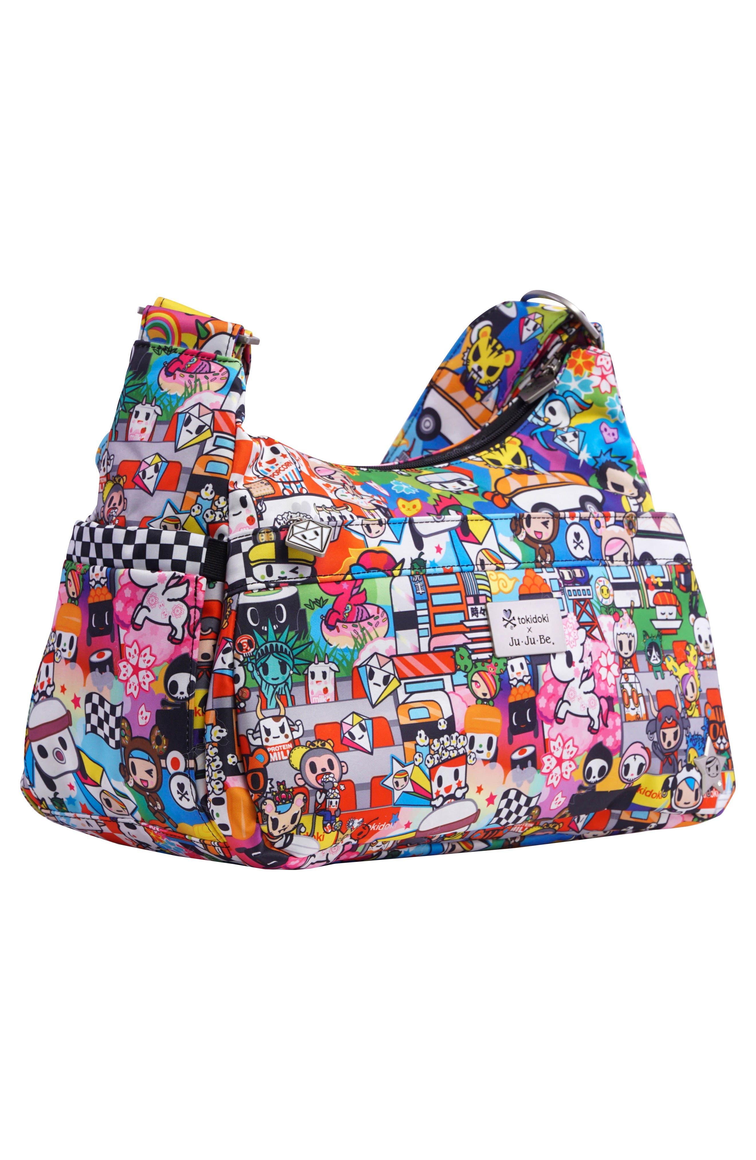 tokidoki x Ju-Ju-Be 'HoboBe' Diaper Bag,                             Alternate thumbnail 2, color,                             Sushi Cars